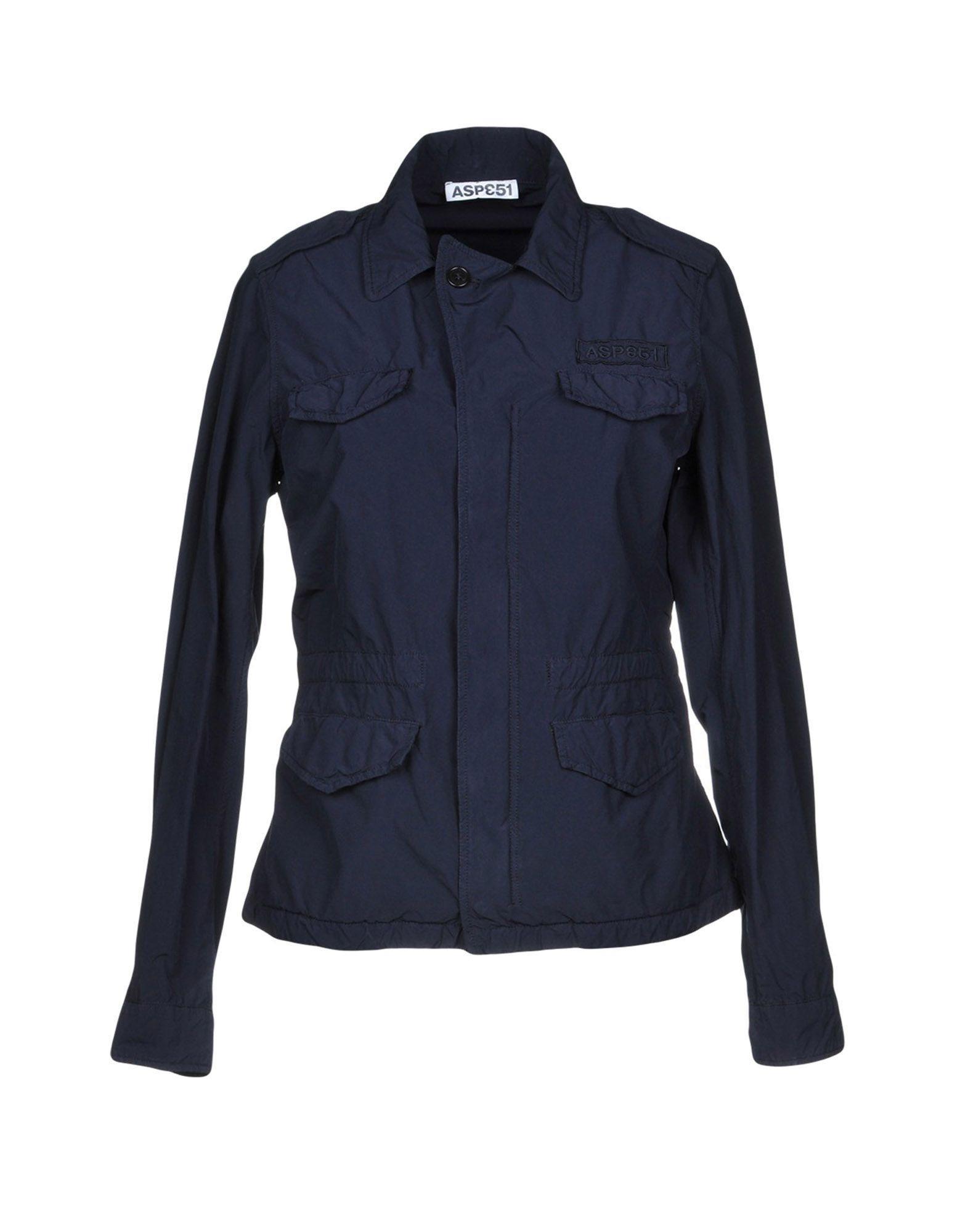 Aspesi Jackets In Dark Blue