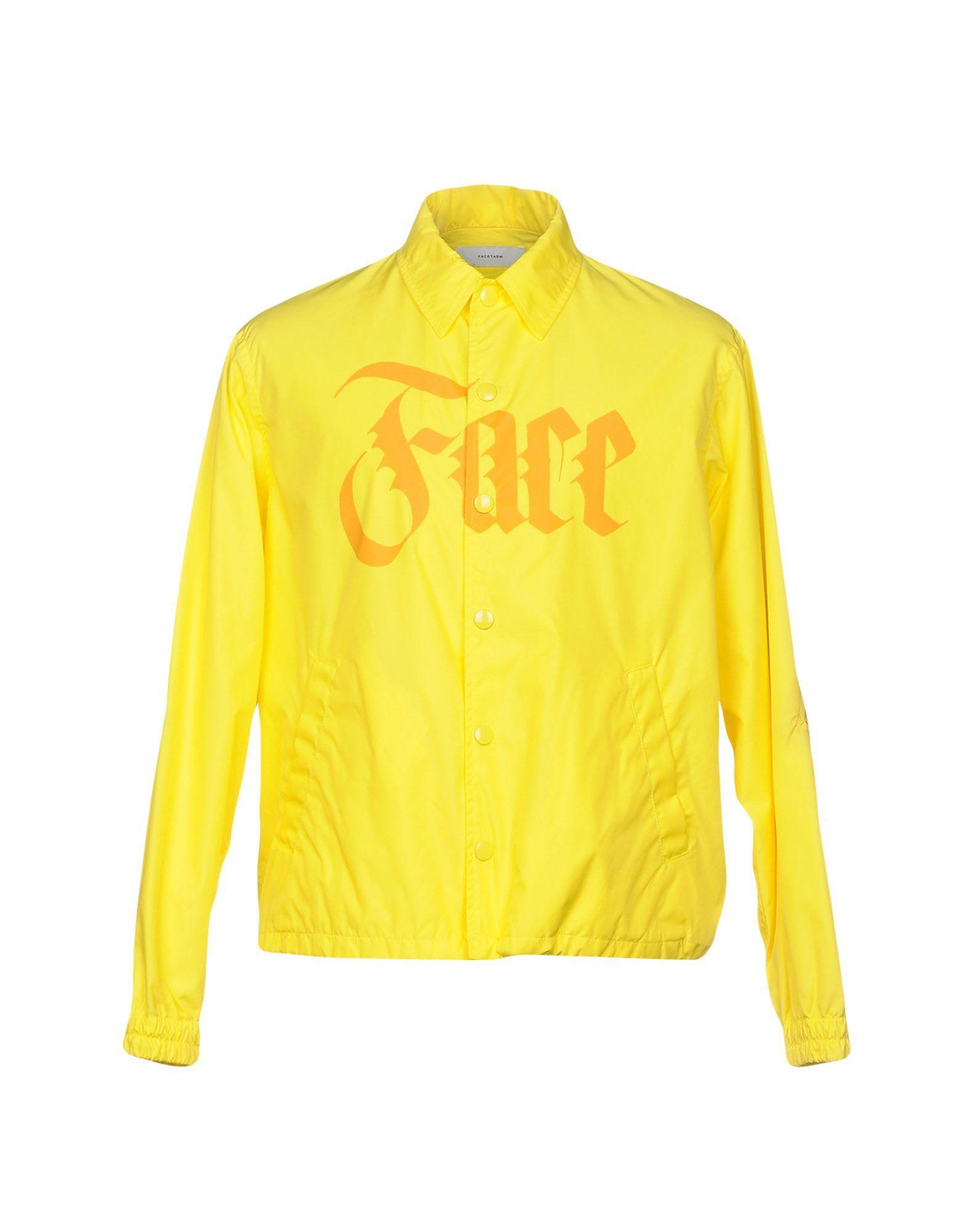 Facetasm Jacket In Yellow