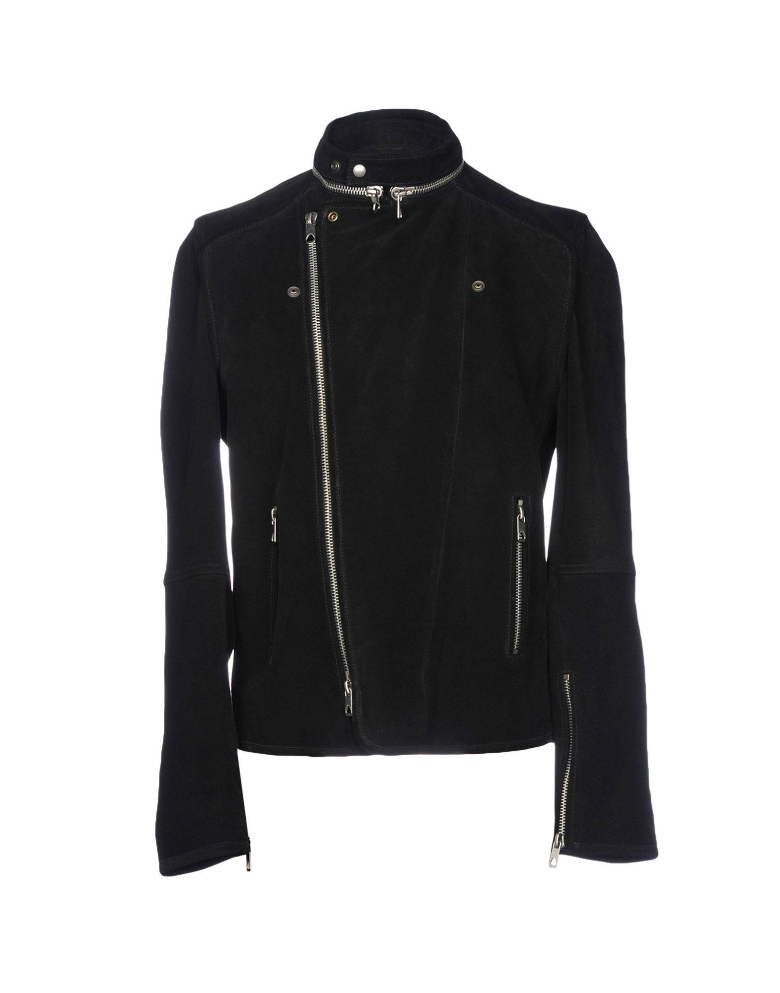 Diesel Black Gold Jackets In Black