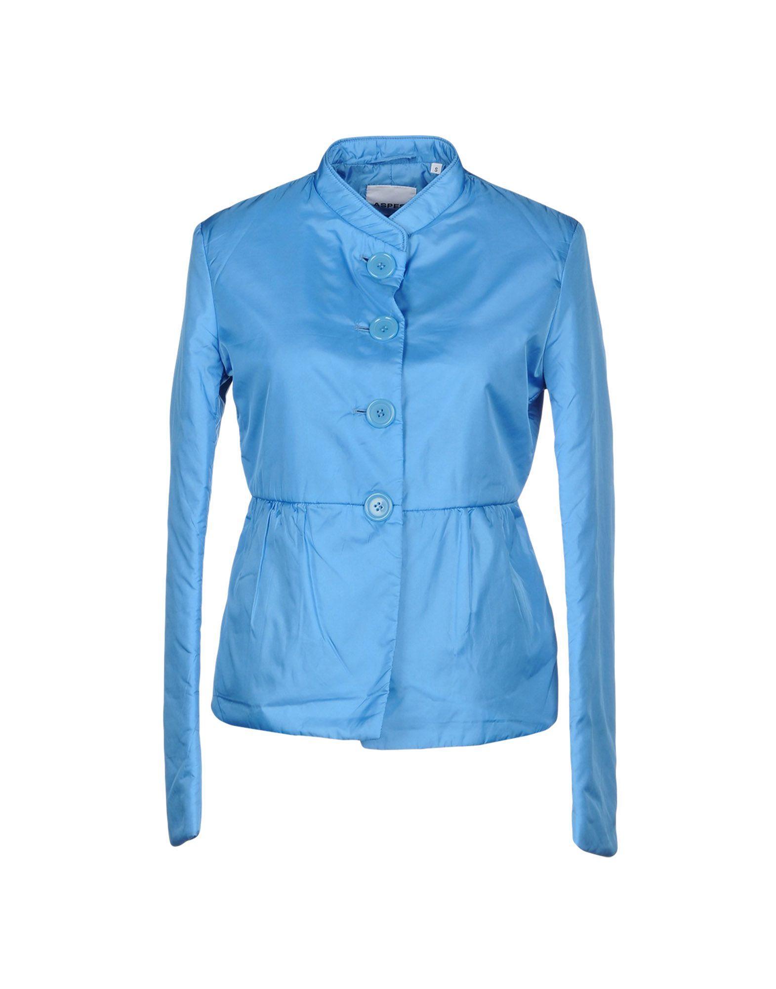 Aspesi Jackets In Sky Blue