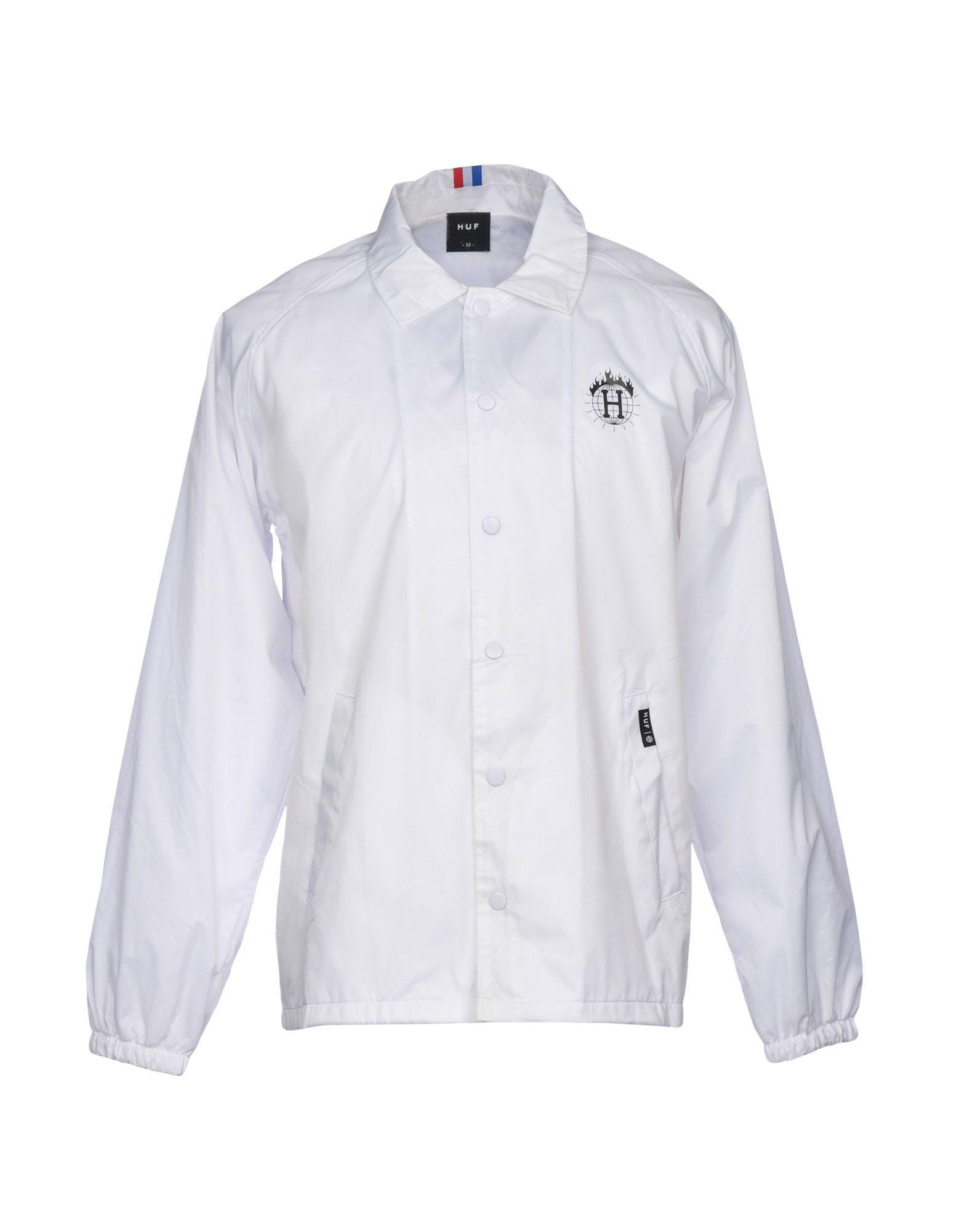 Huf Jackets In White