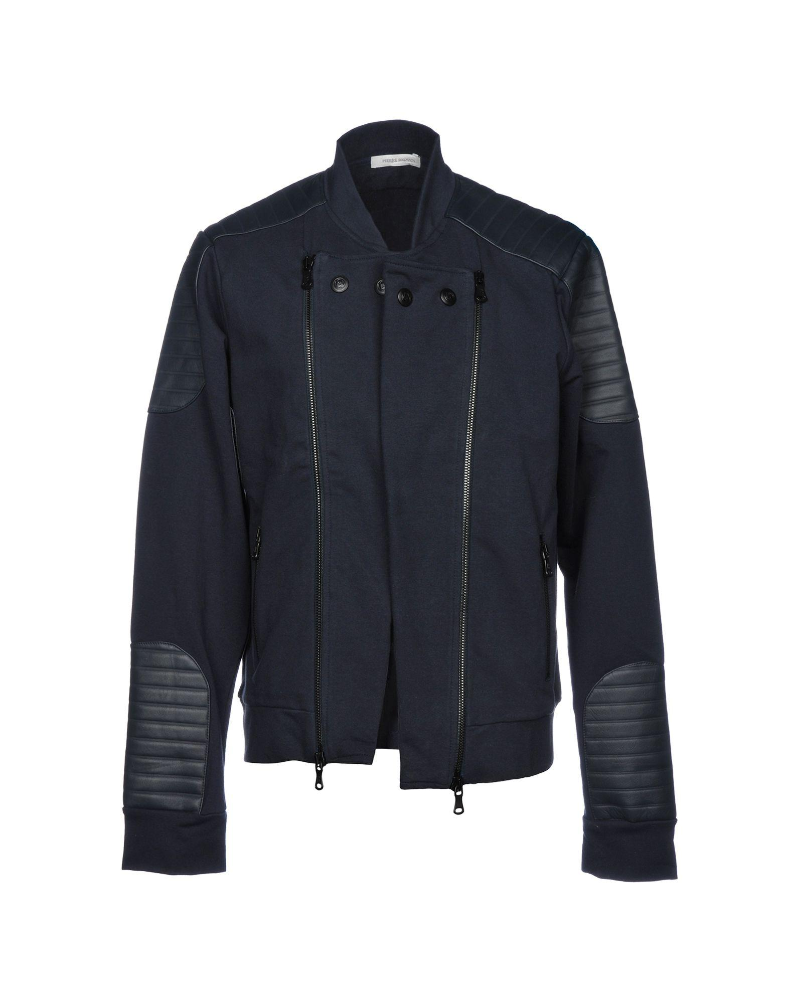 Pierre Balmain Jacket In Dark Blue