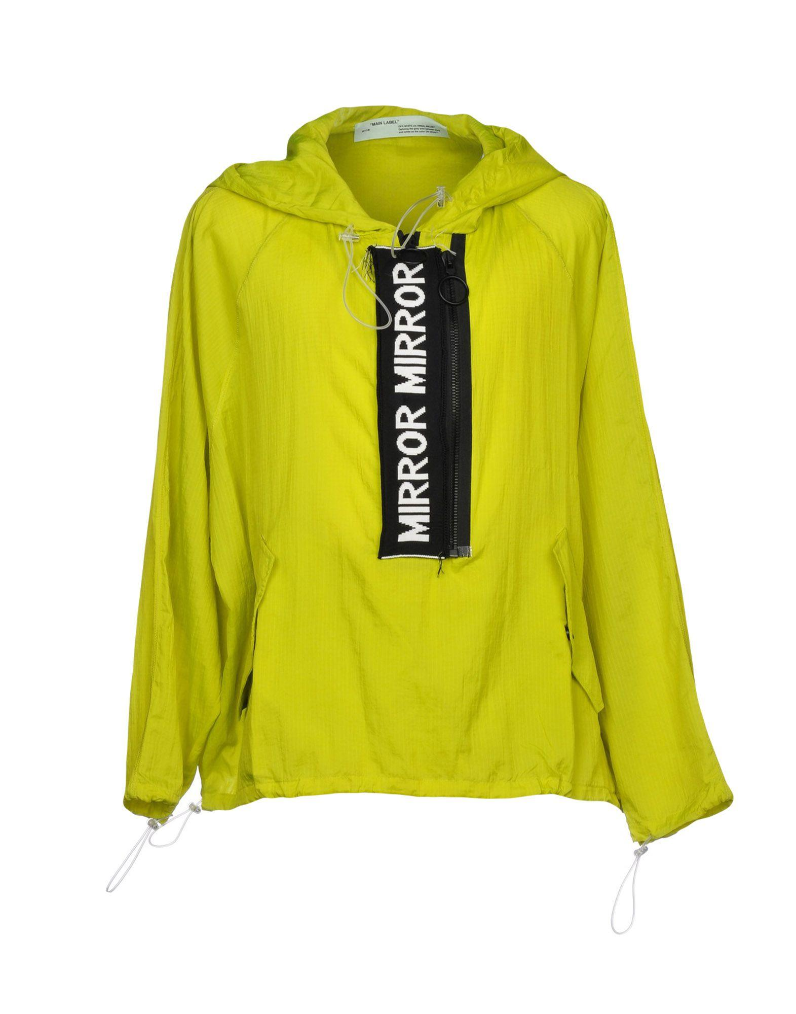 Off-white Jacket In Acid Green