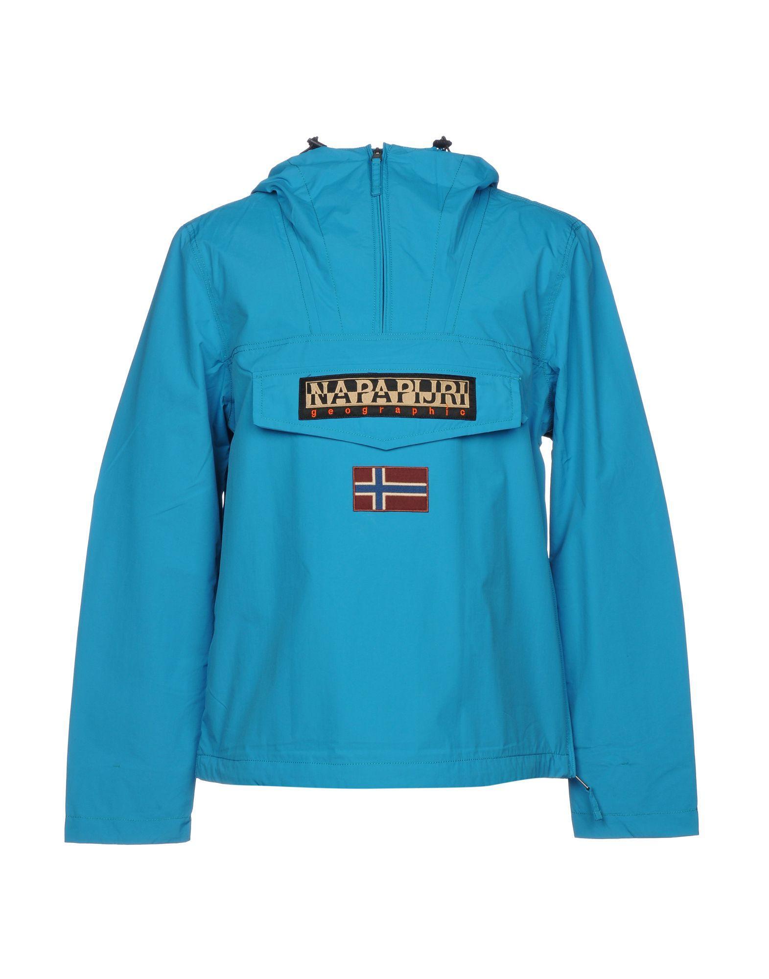 Napapijri Jackets In Turquoise