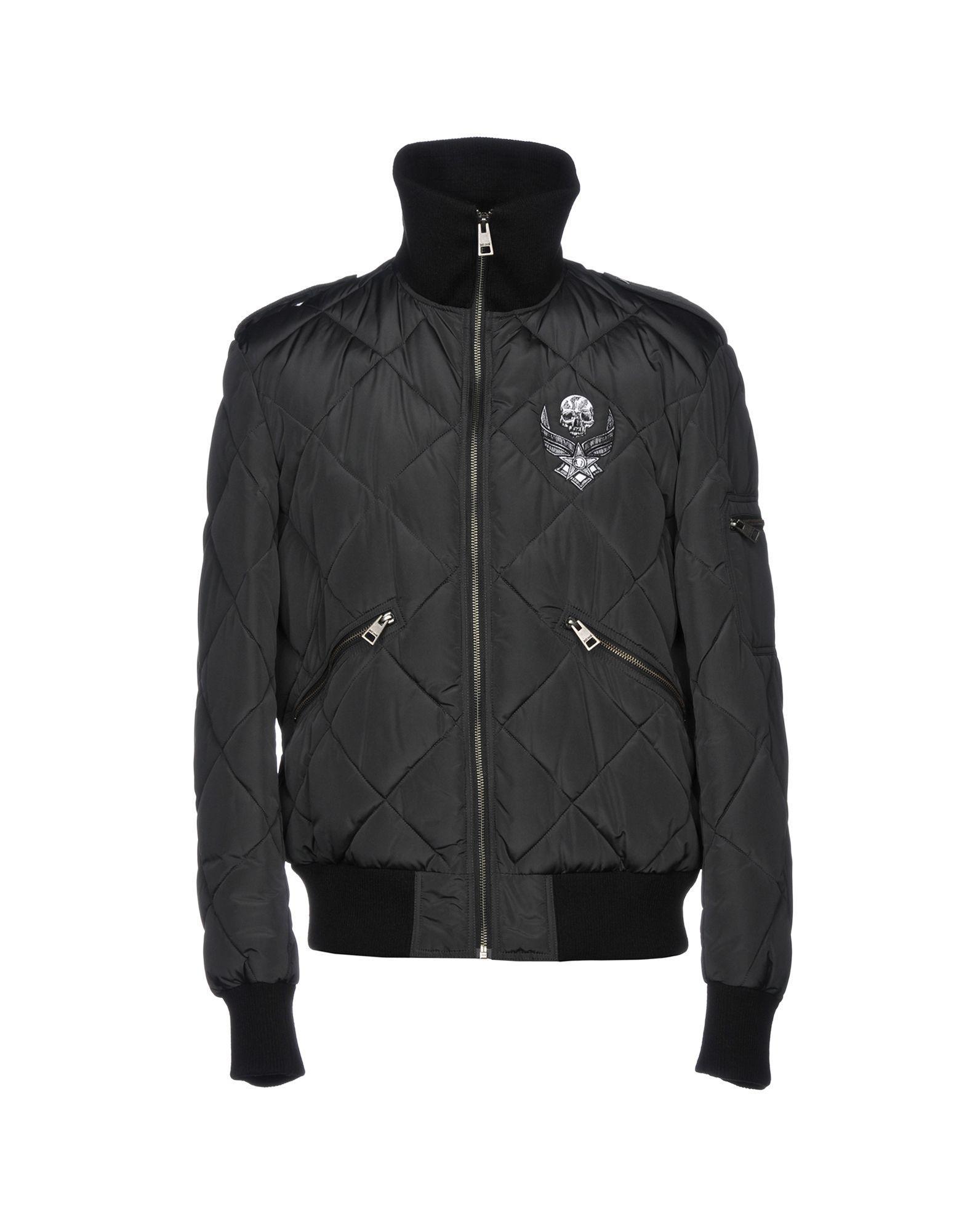 Just Cavalli Jackets In Black