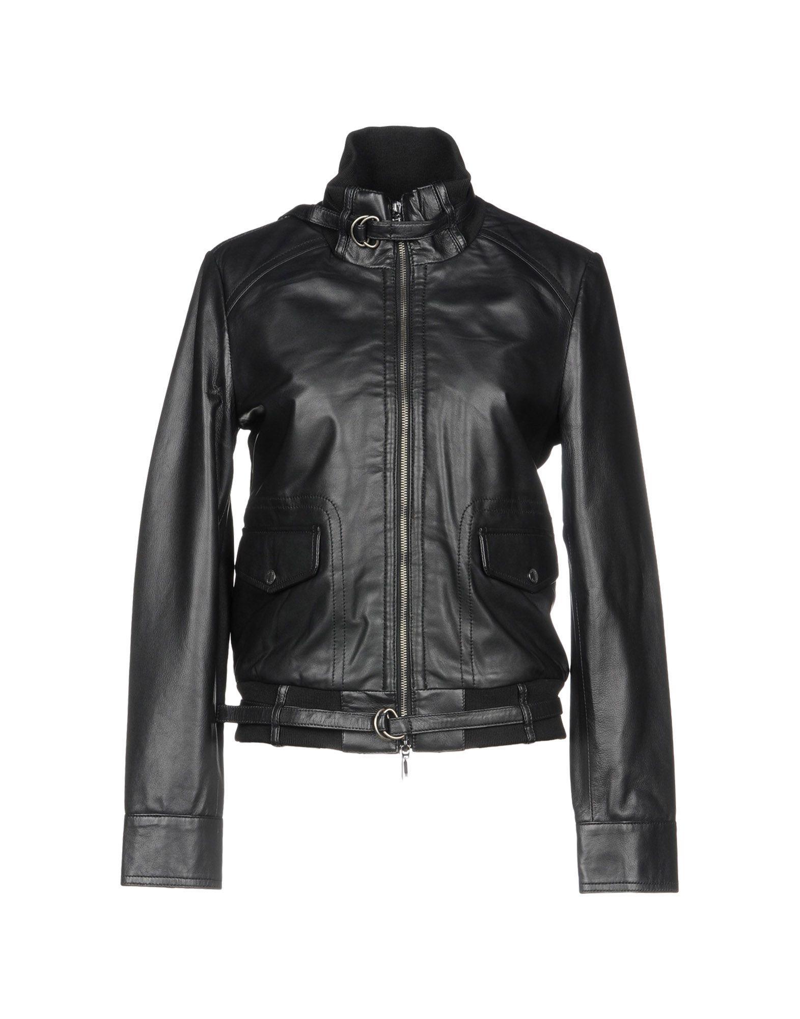 Geox Jackets In Black
