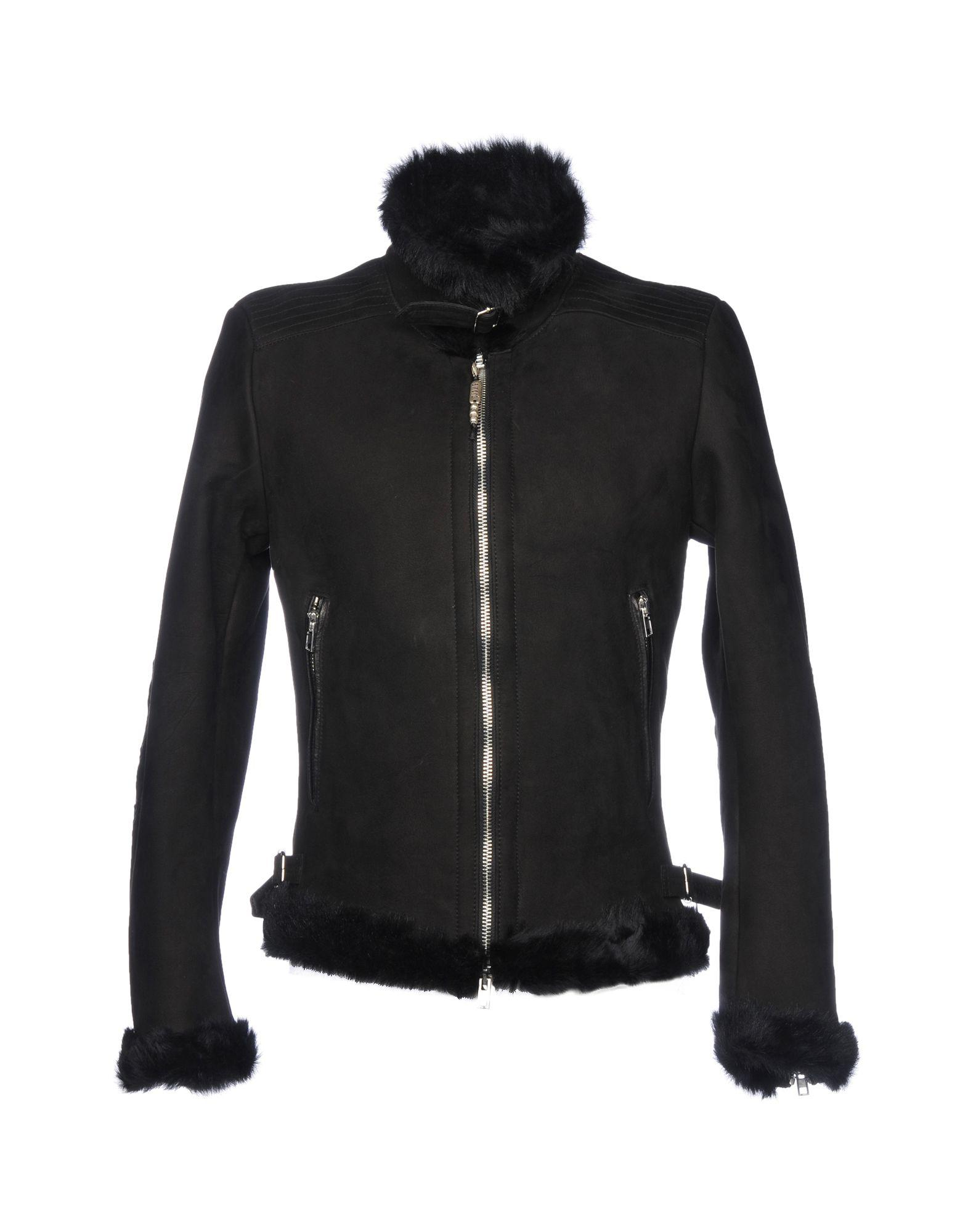 Sword 6.6.44 Leather Jacket In Black