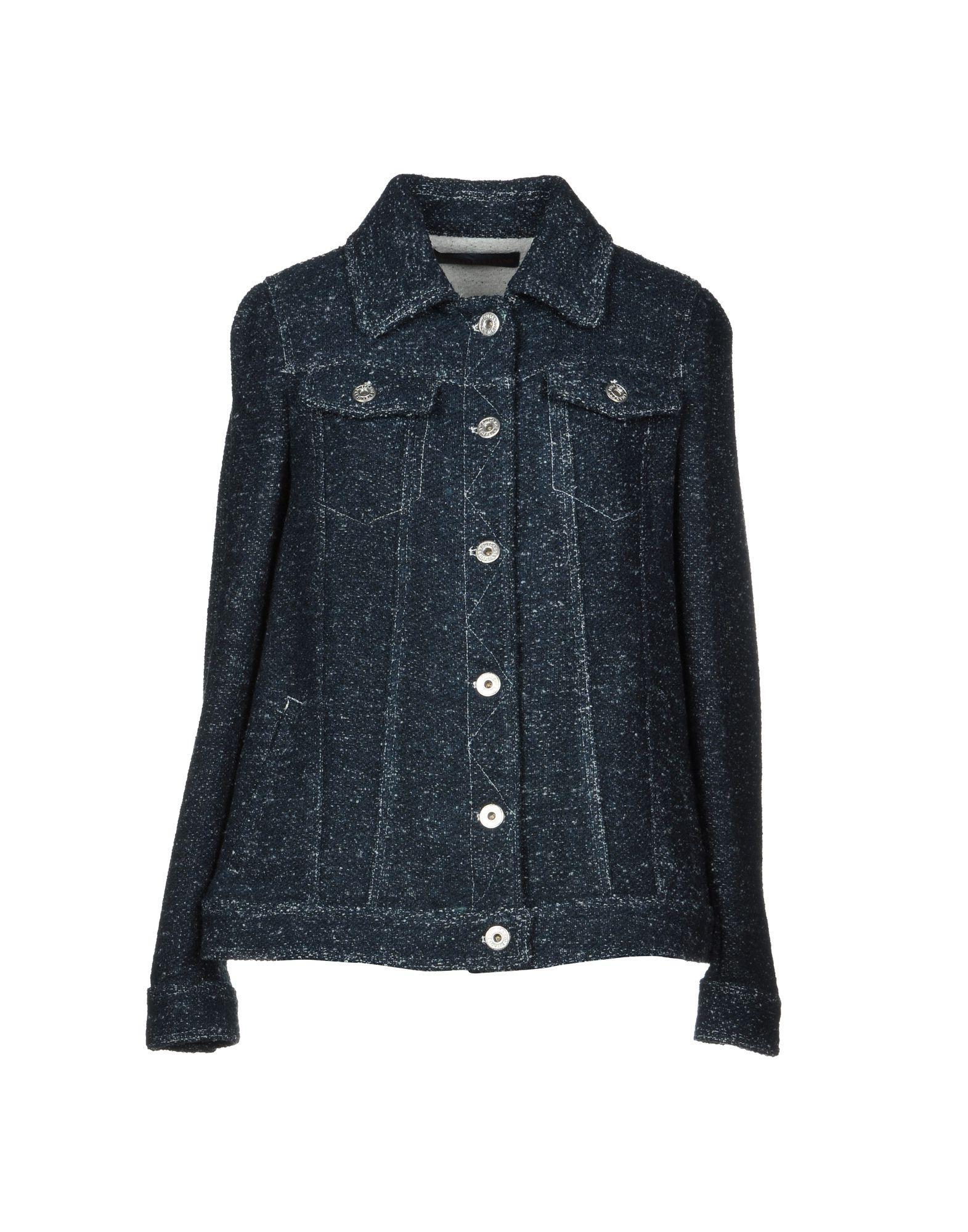 Trussardi Jeans Jackets In Dark Blue
