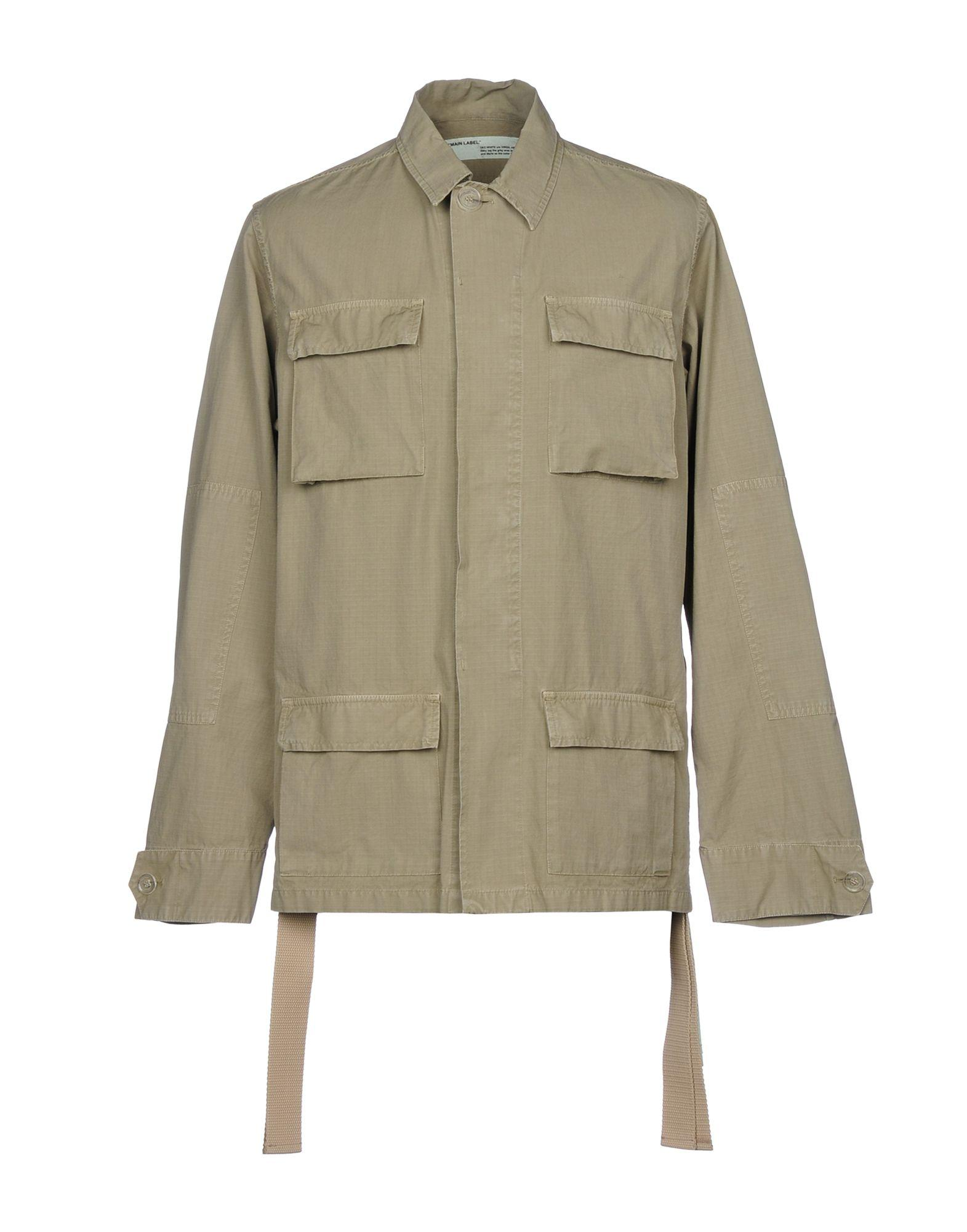 Off-white ™ Jackets In Military Green