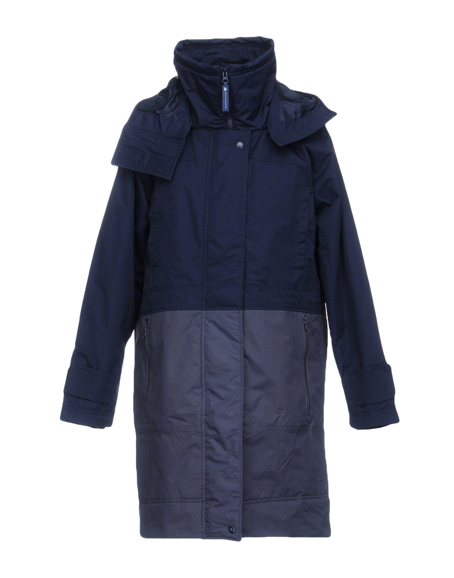 Adidas By Stella Mccartney Synthetic Padding In Dark Blue