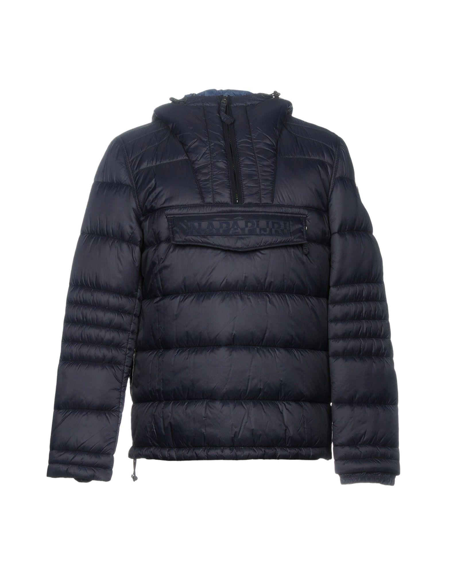 Napapijri Synthetic Down Jacket In Blue