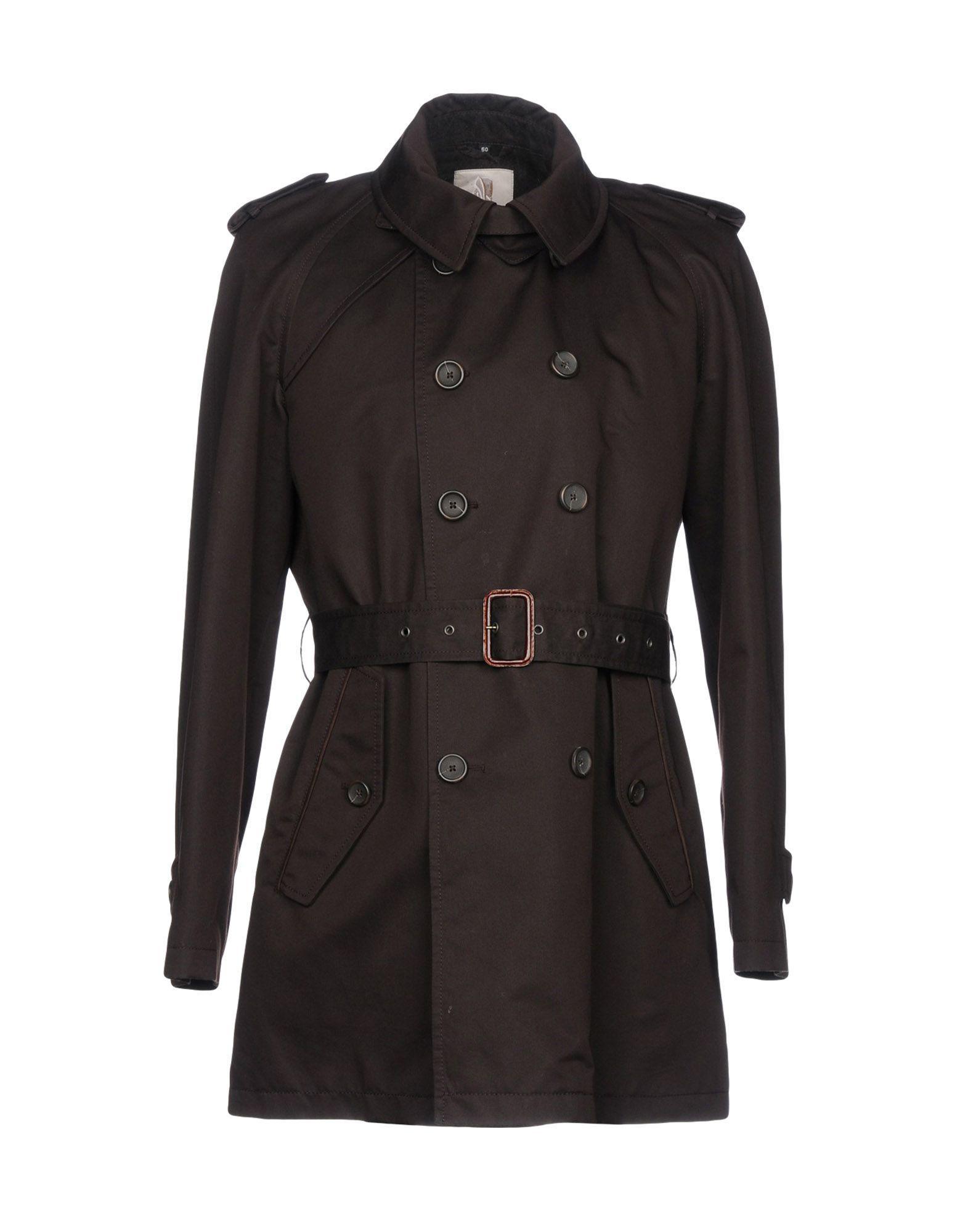 Sealup Overcoats In Dark Brown