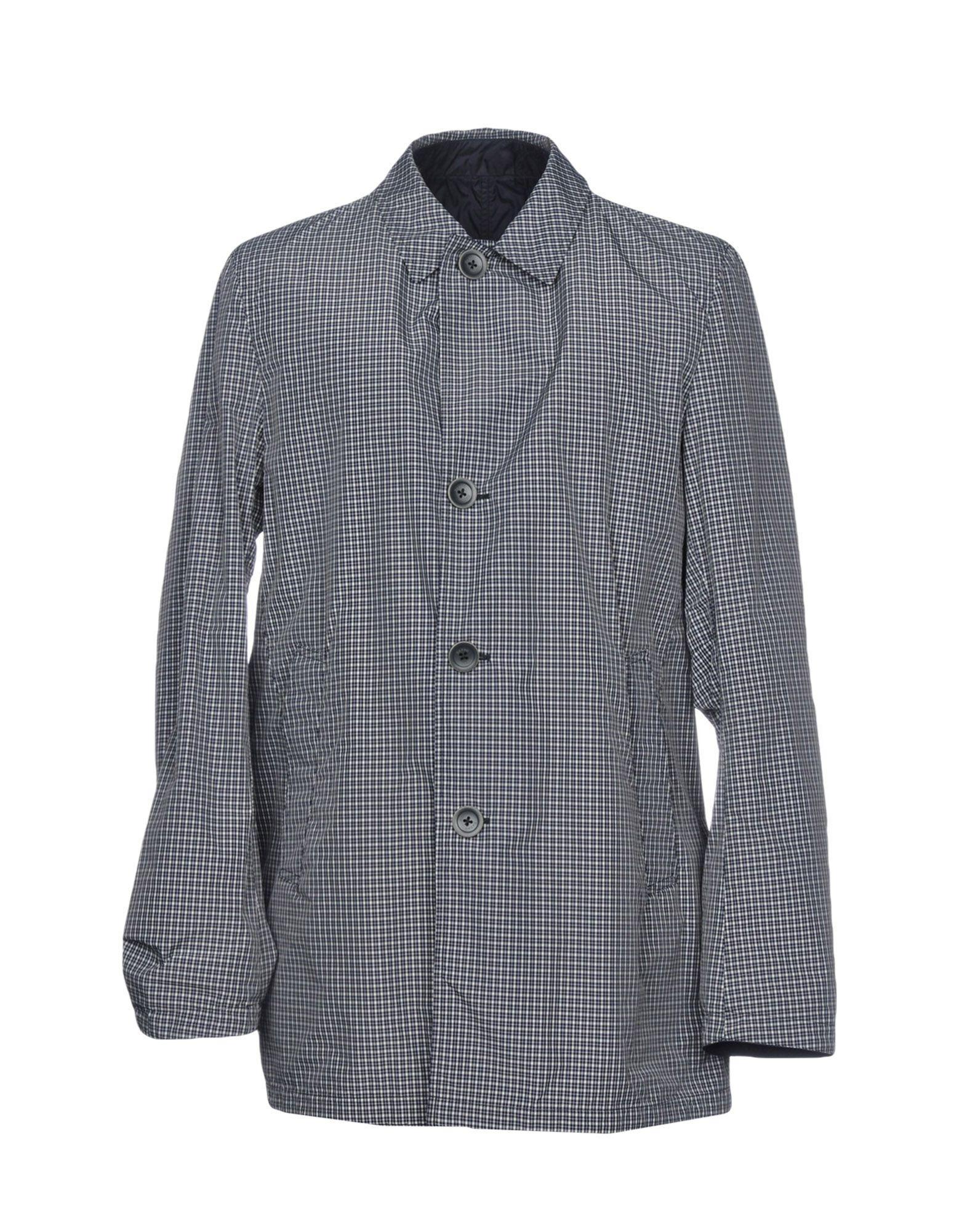 Herno Full-length Jacket In Dark Blue