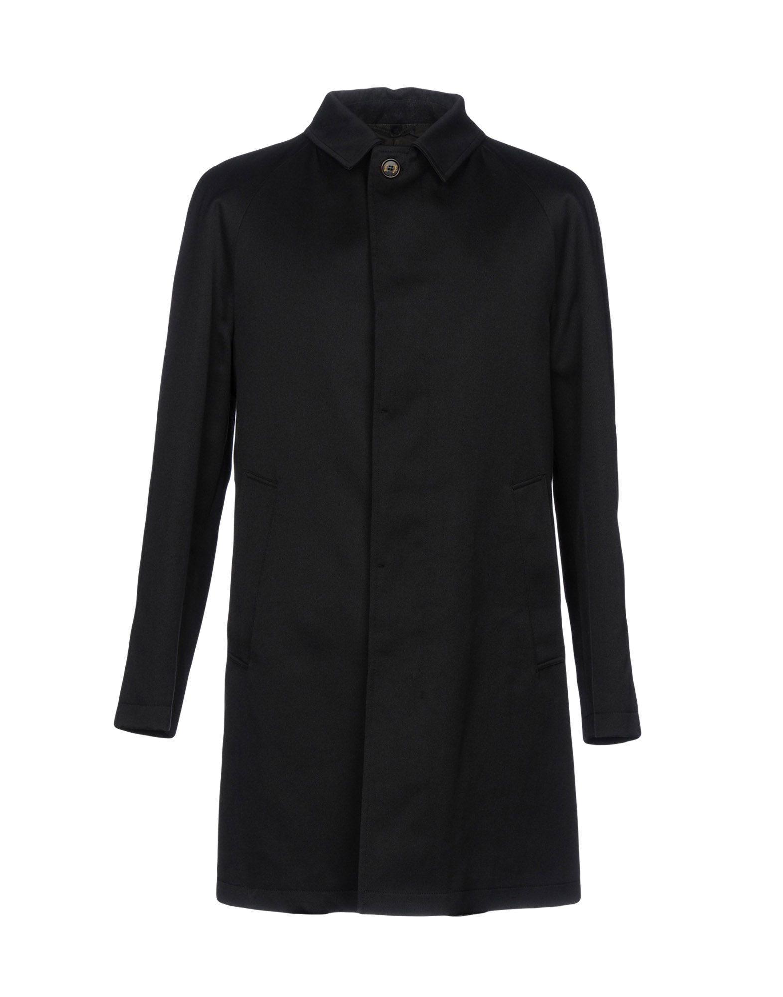 Sealup Full-length Jacket In Black