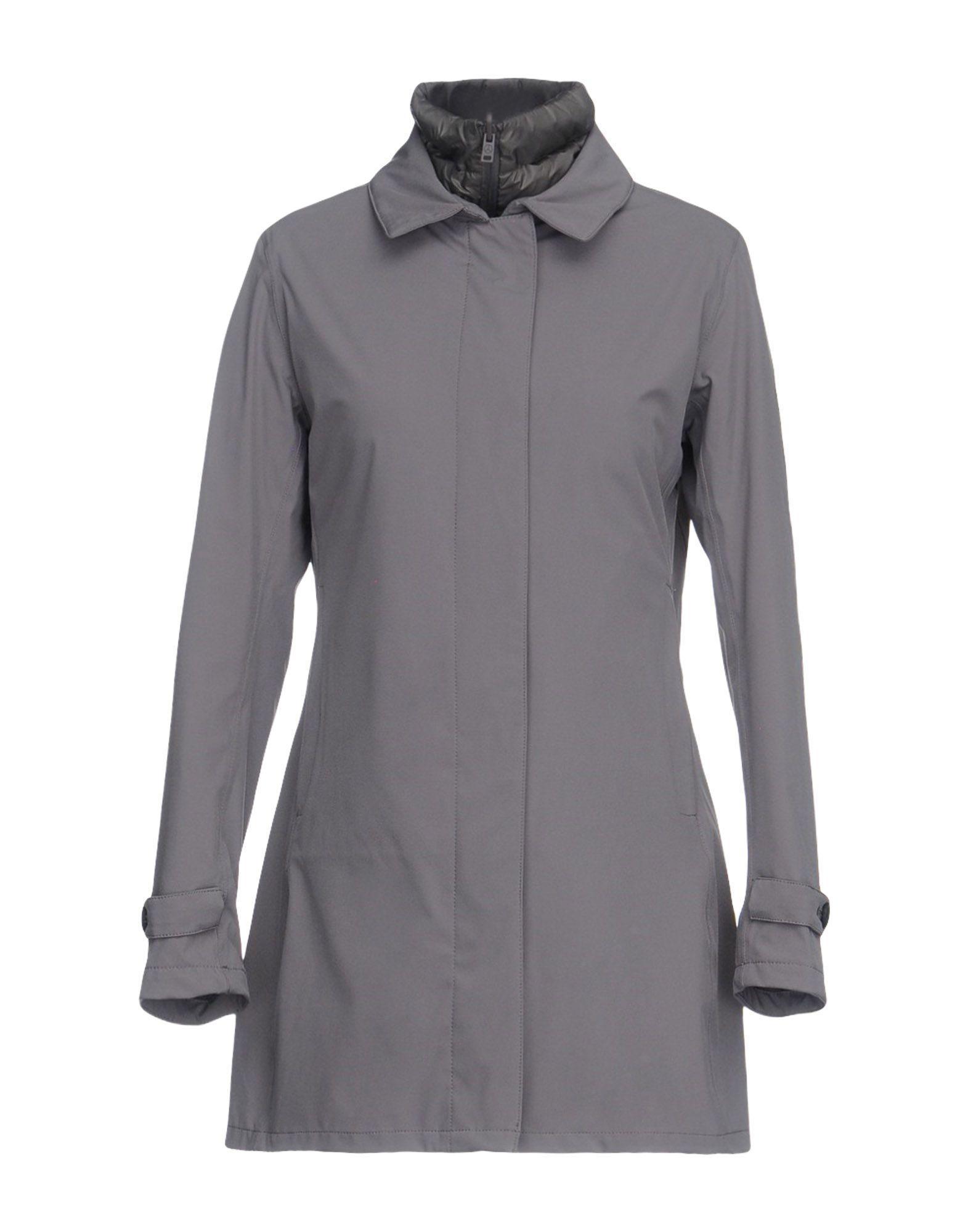 People Of Shibuya Full-length Jacket In Grey