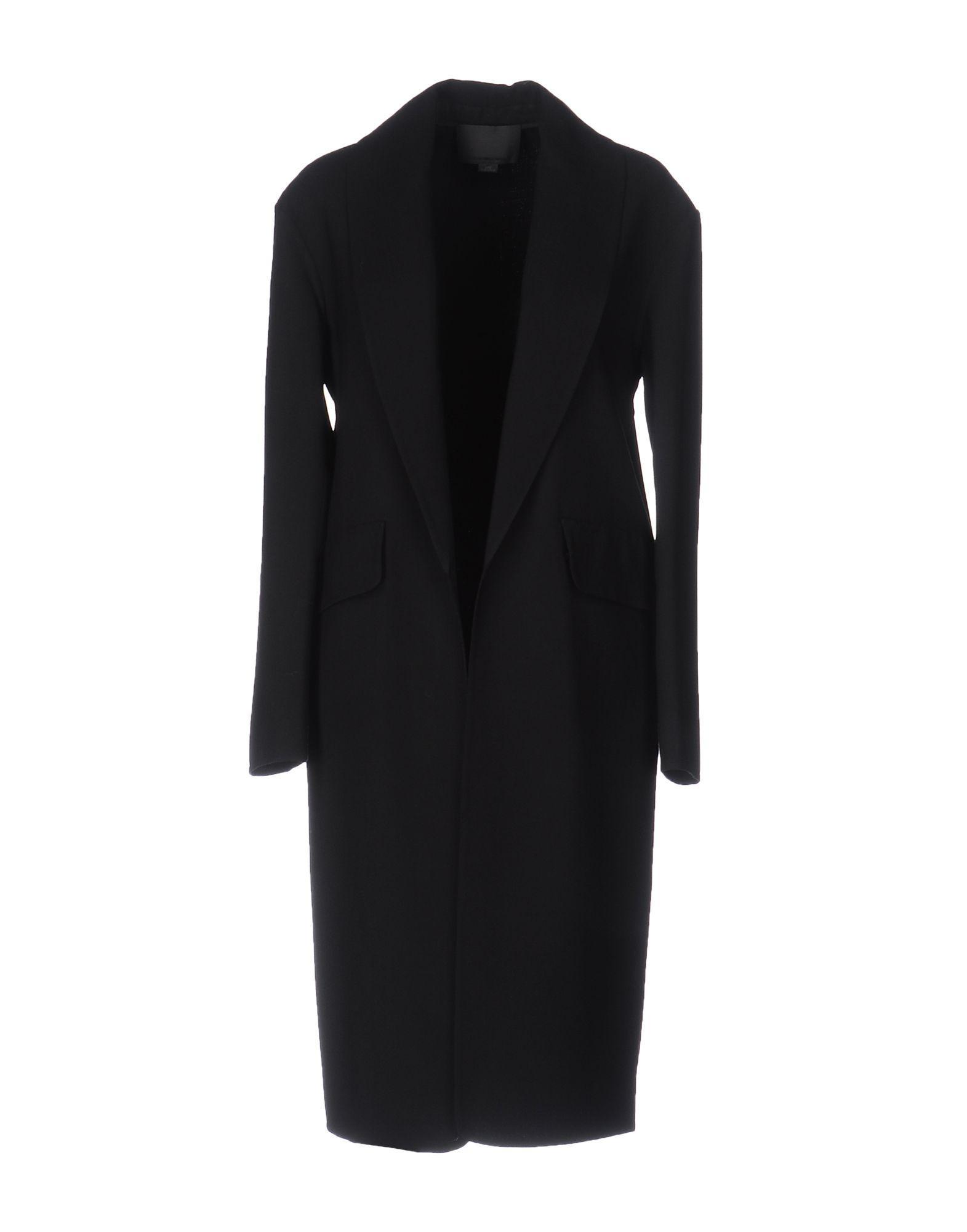 Alexander Wang Overcoats In Black
