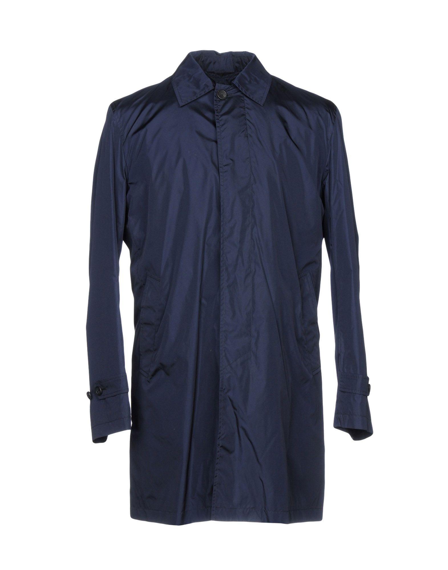 Sealup Overcoats In Dark Blue
