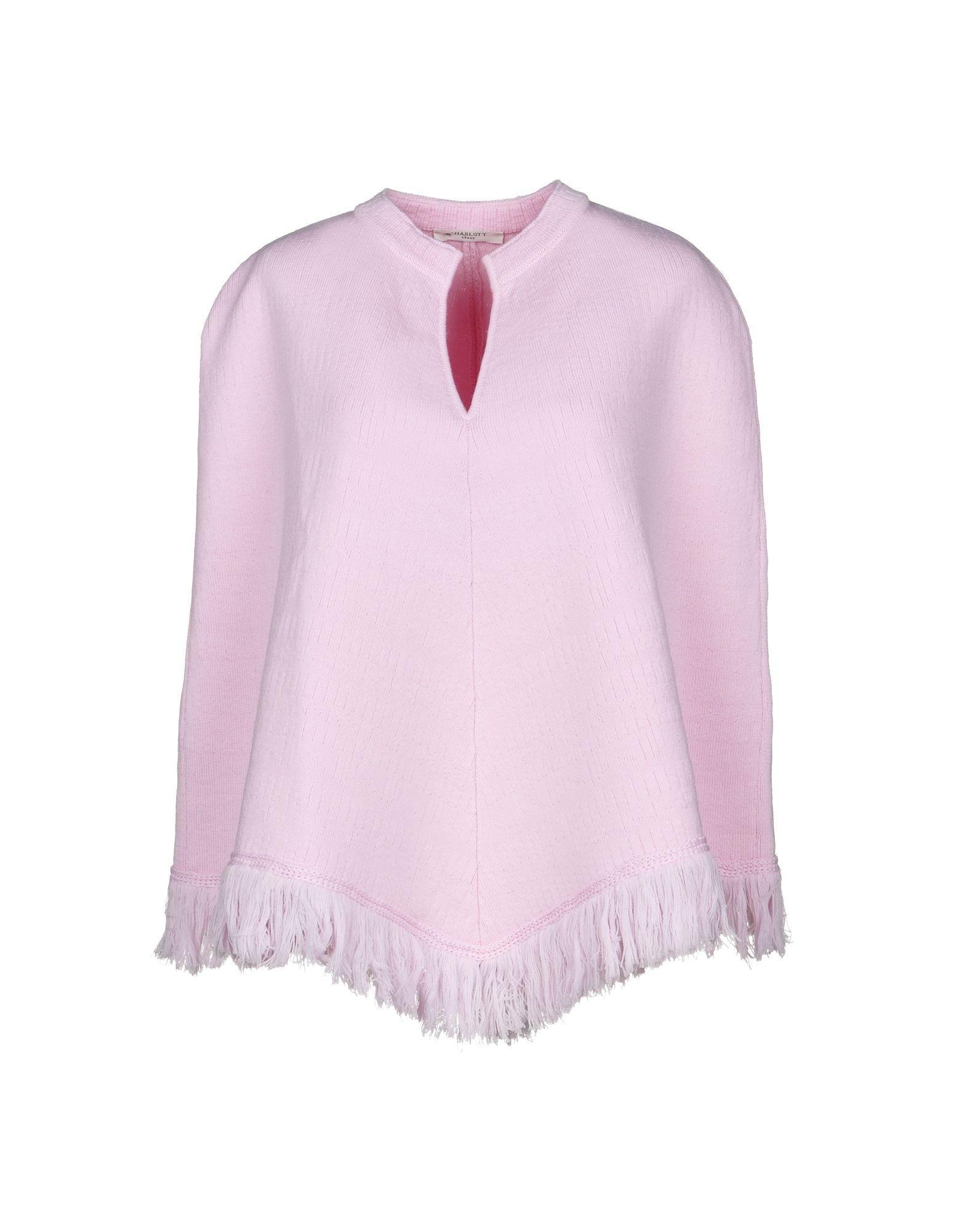 Charlott Cape In Pink
