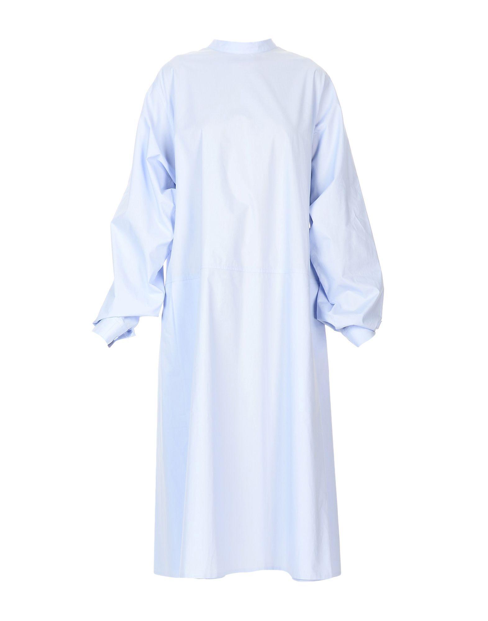 3ab6cfd3cddf Mm6 Maison Margiela Midi Dress In Sky Blue