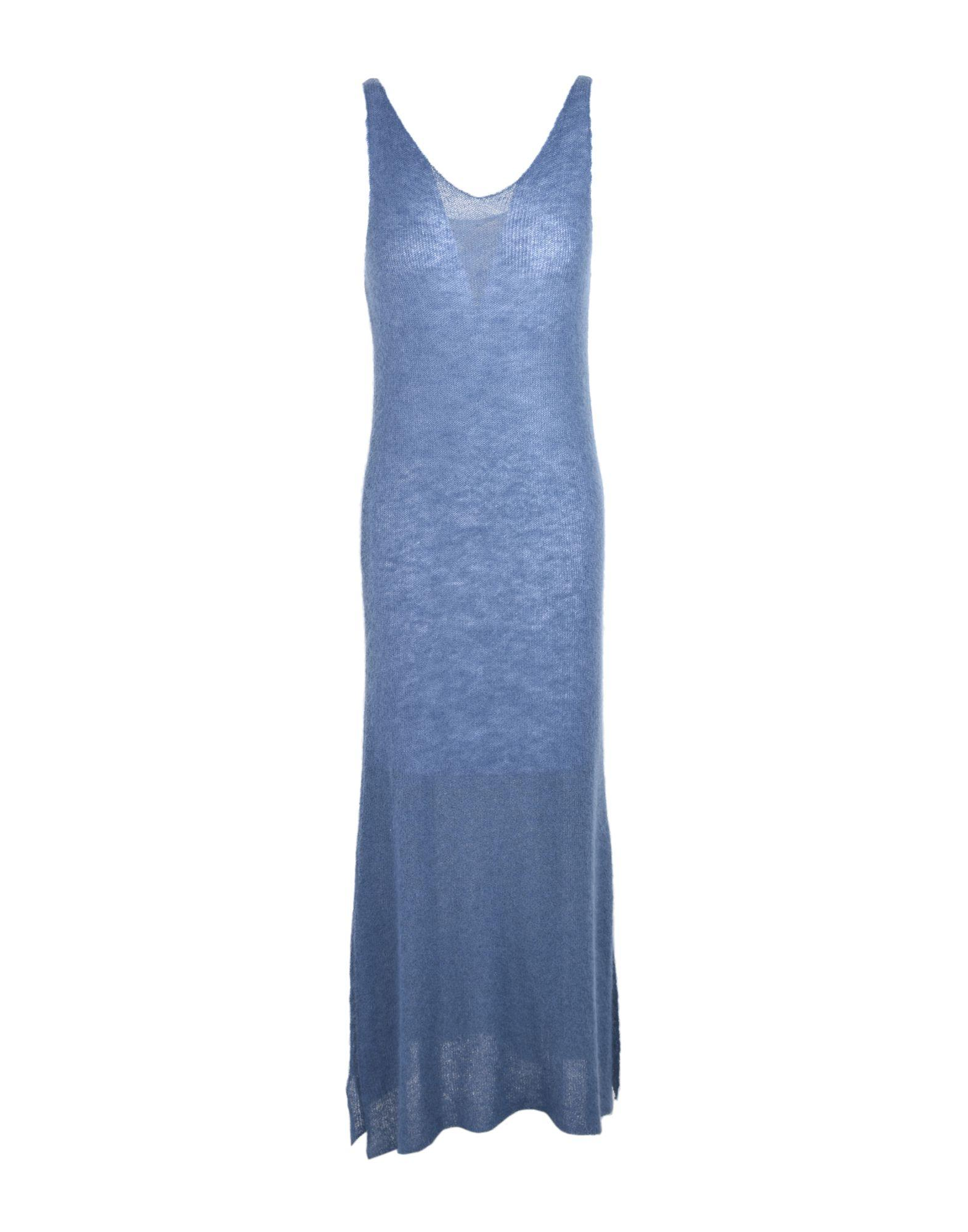 Soho De Luxe Midi Dress In Pastel Blue