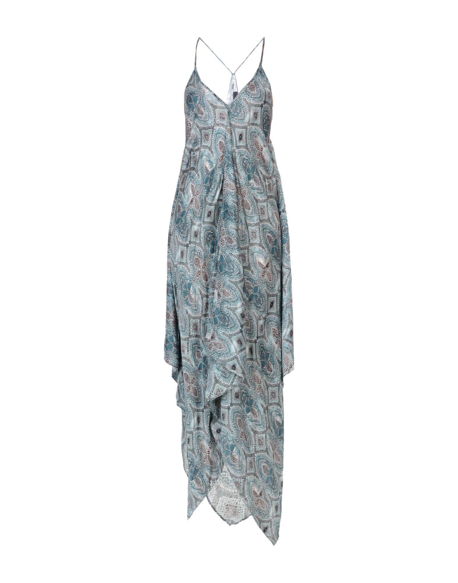 Philipp Plein 3/4 Length Dresses In Deep Jade