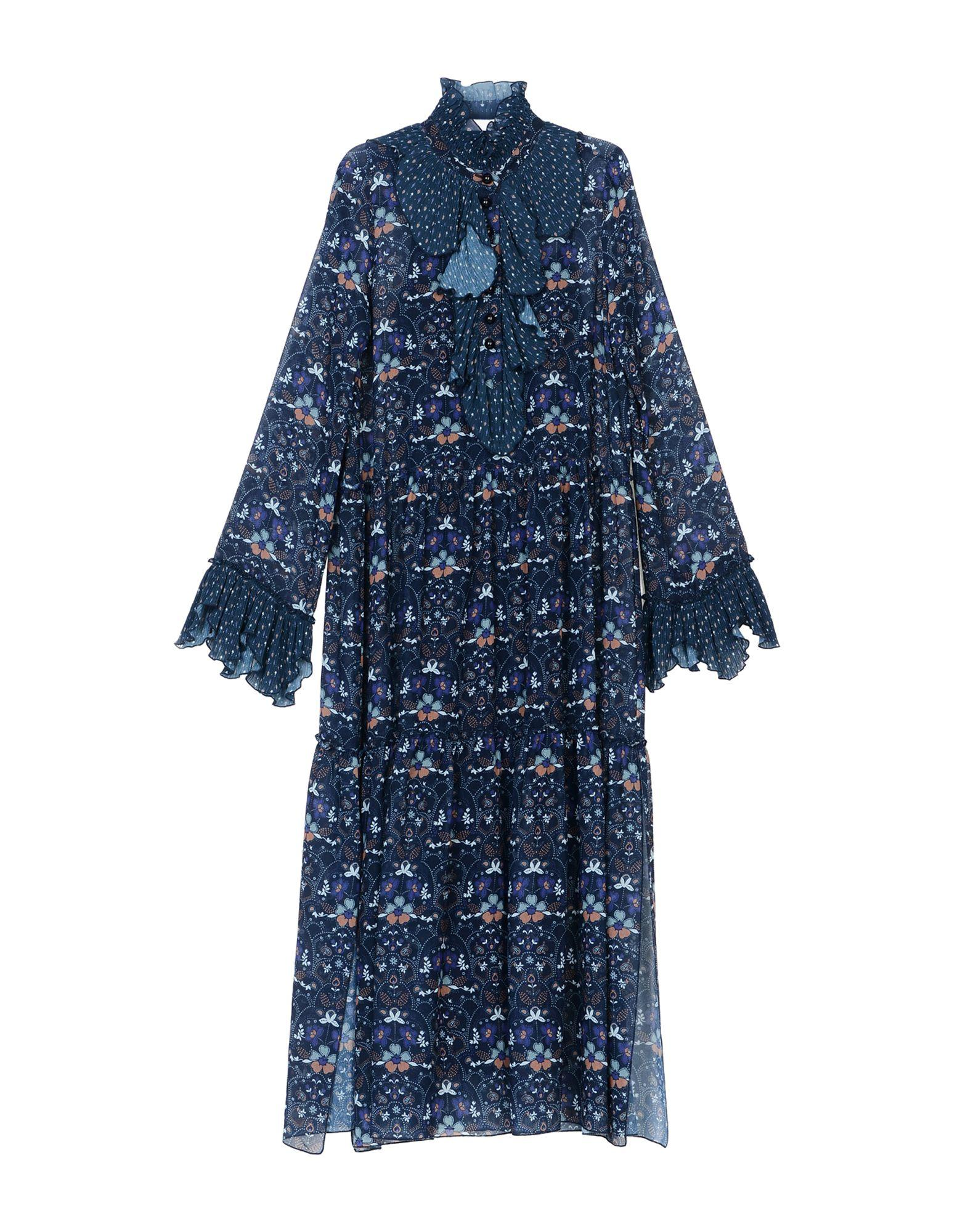 See By ChloÉ 3/4 Length Dresses In Dark Blue
