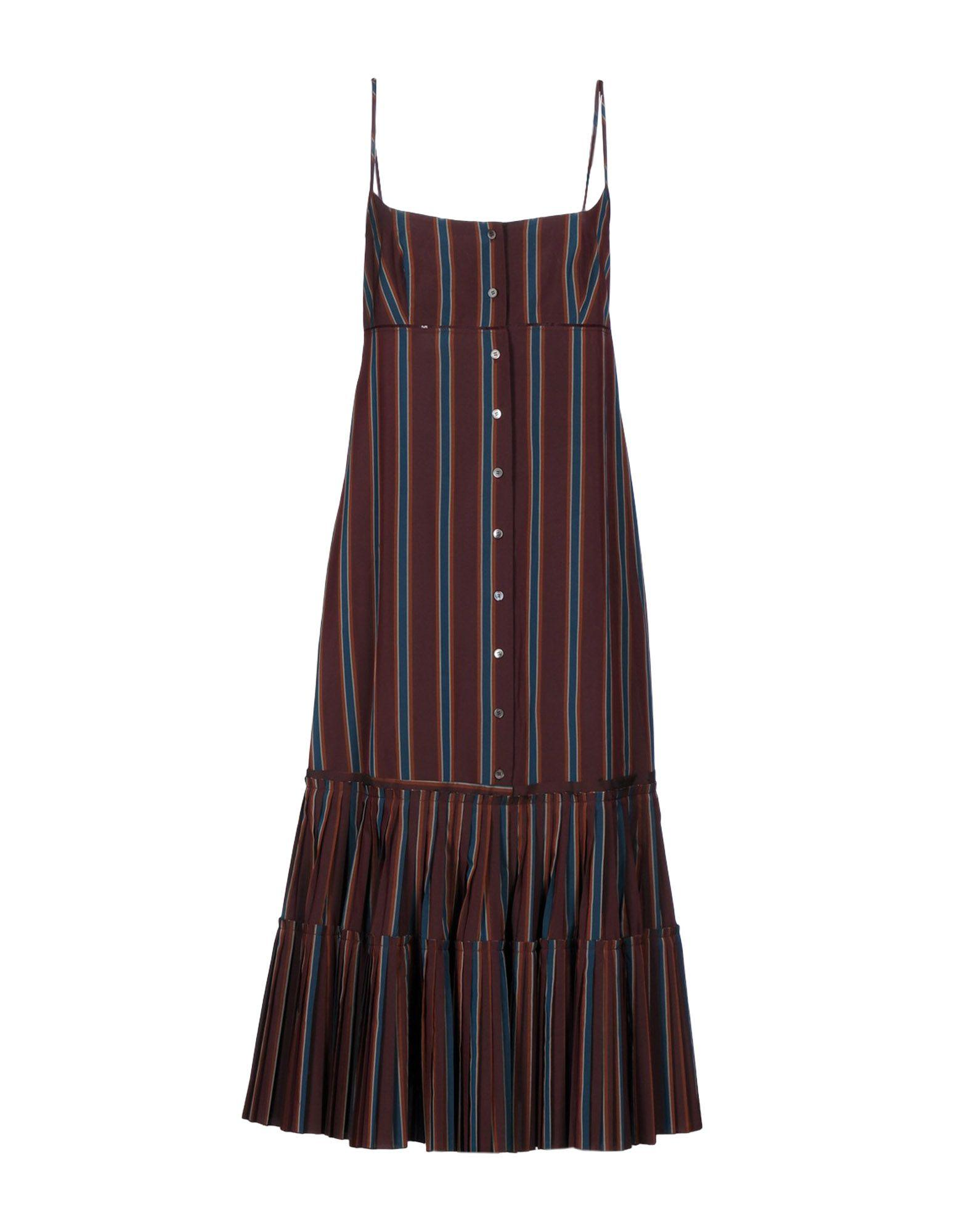 Brock Collection 3/4 Length Dresses In Deep Purple