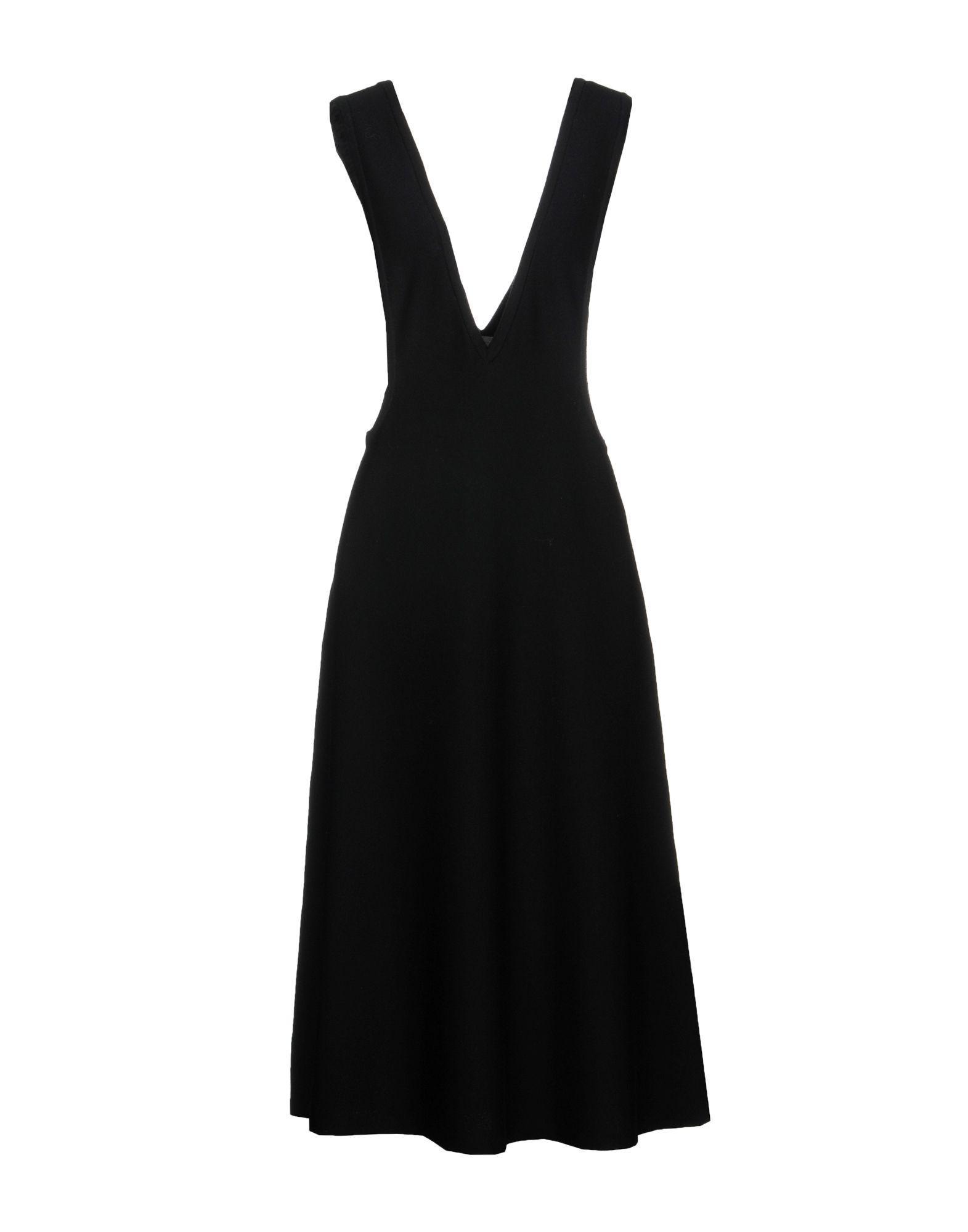 Mrz Knee-length Dress In Black