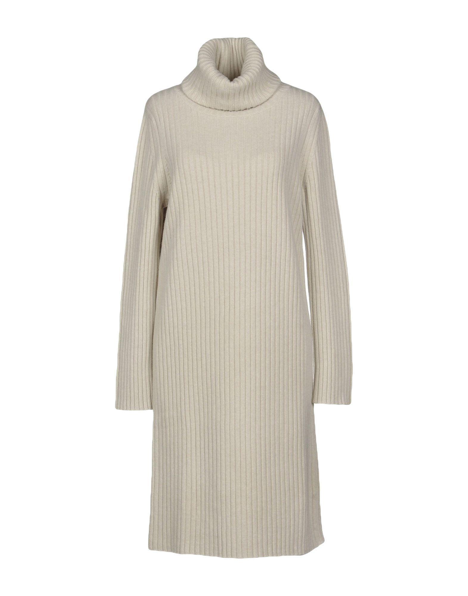 Lamberto Losani Knee-length Dress In Ivory