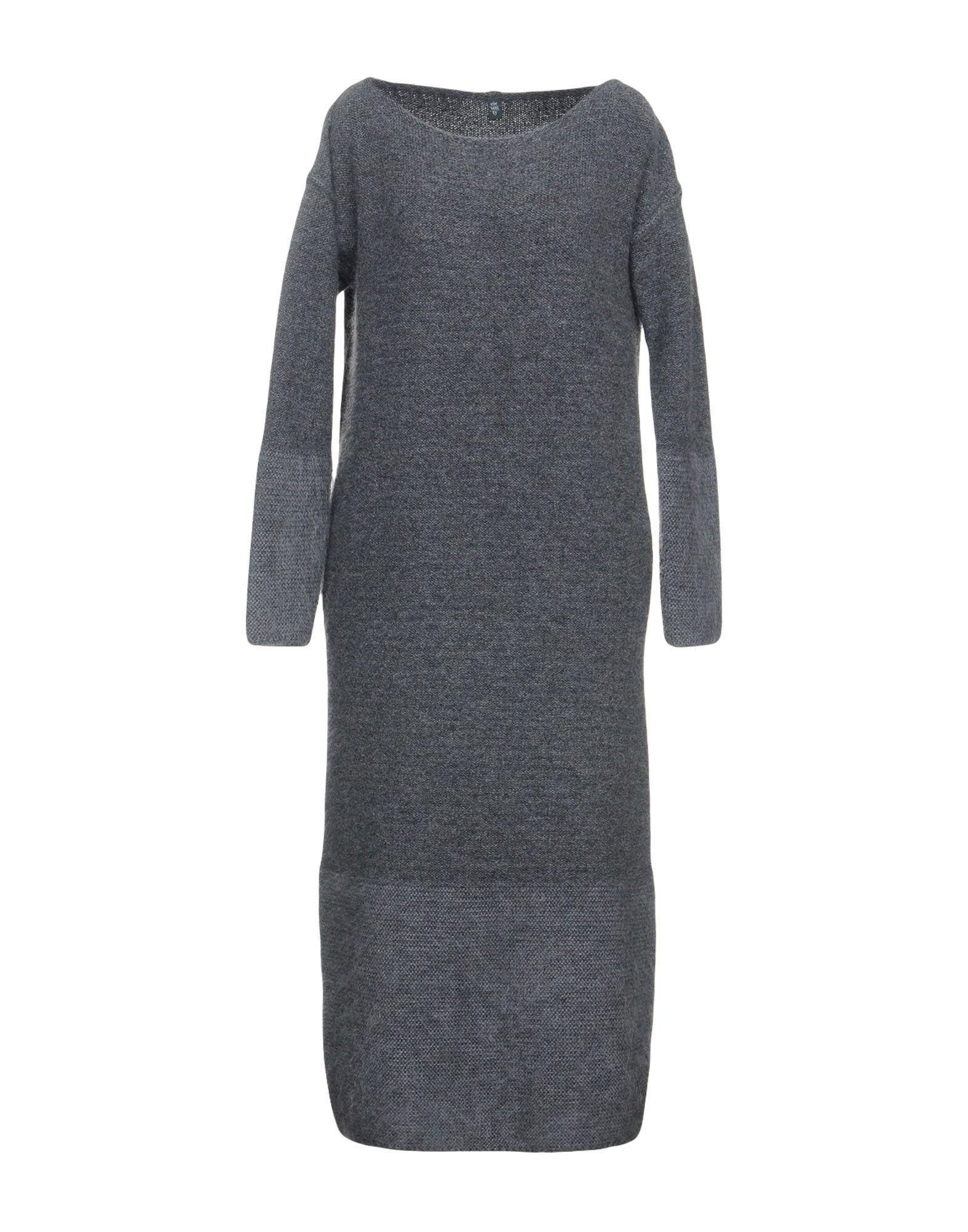 Eleventy Knee-length Dress In Grey