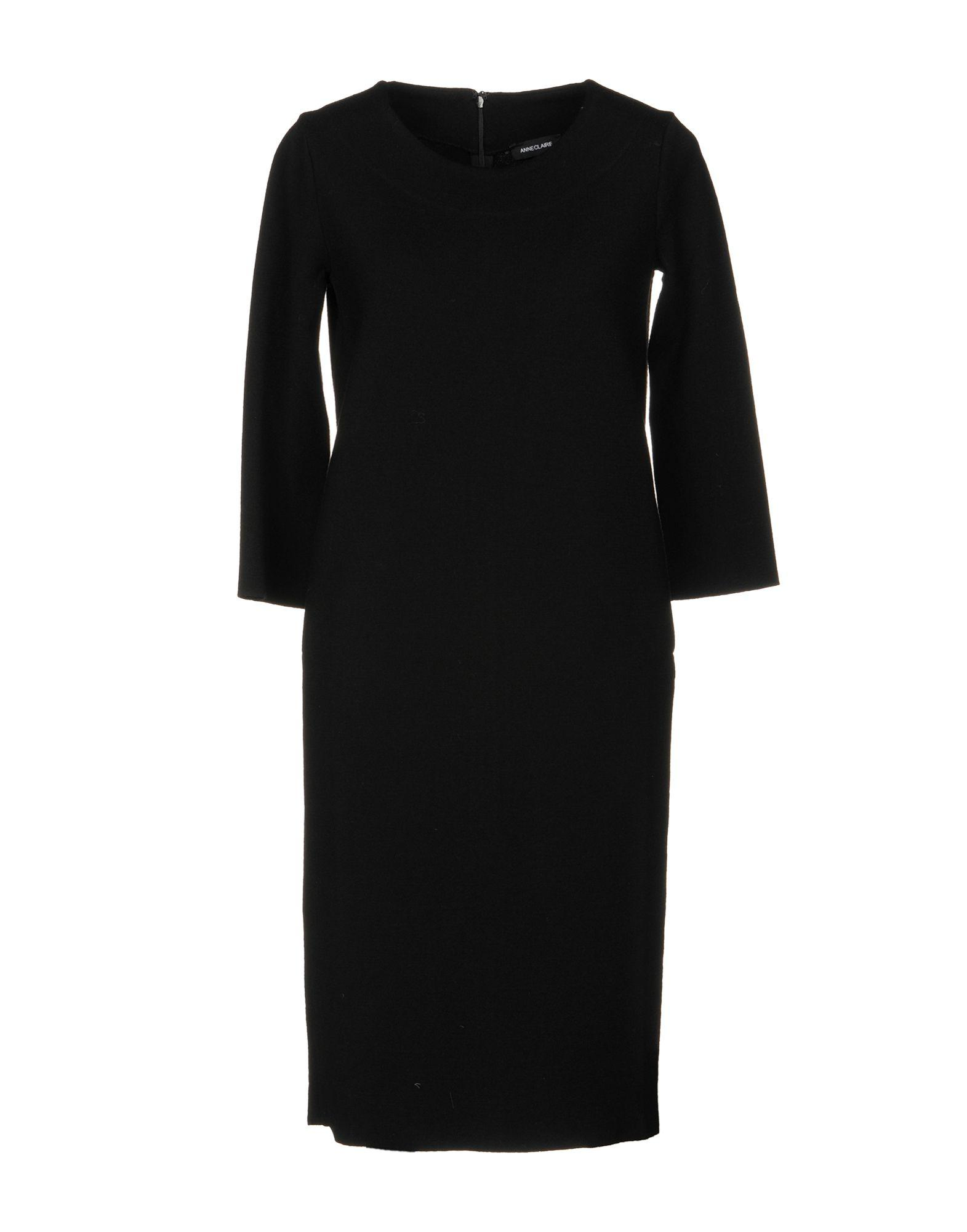Anneclaire Knee-length Dress In Black