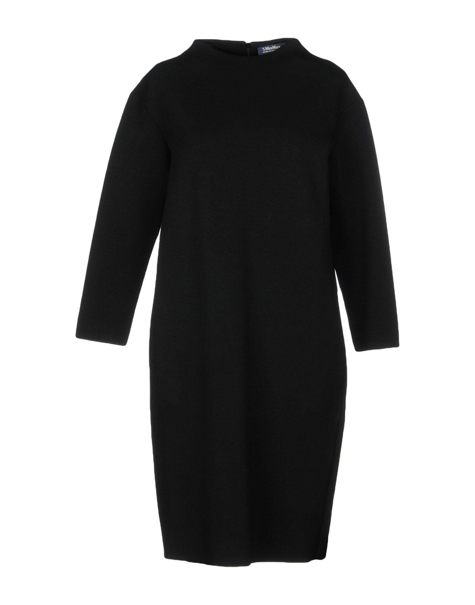 Max Mara Knee-length Dresses In Black