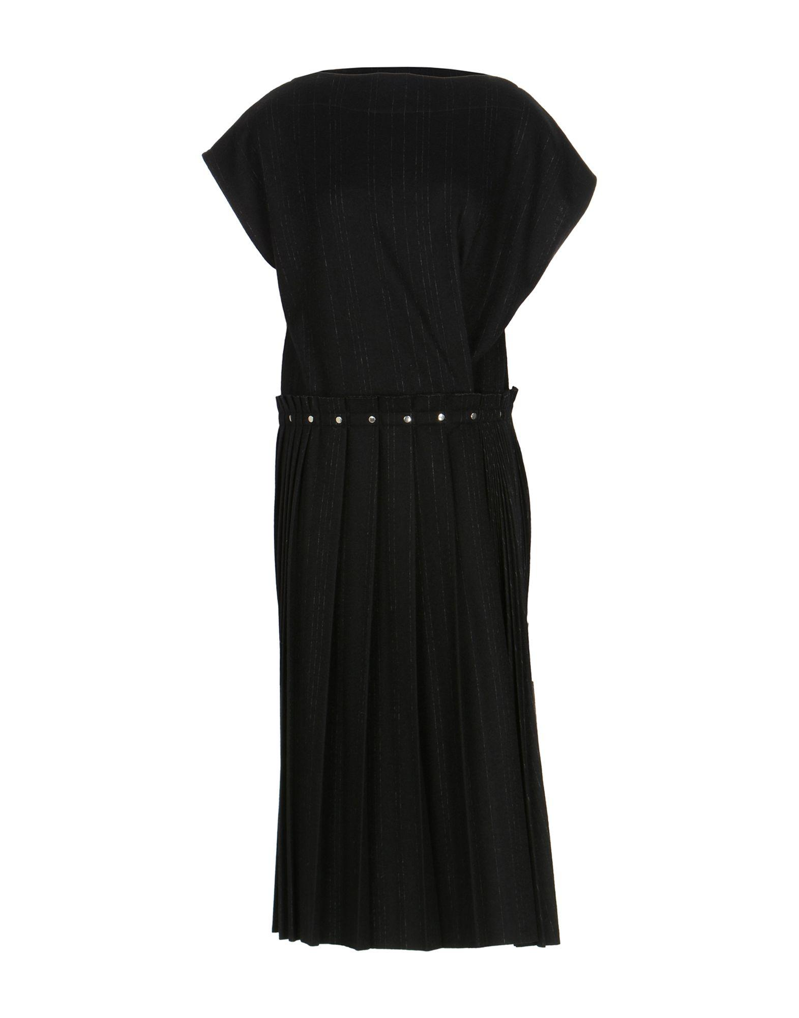 Zucca Knee-length Dress In Black