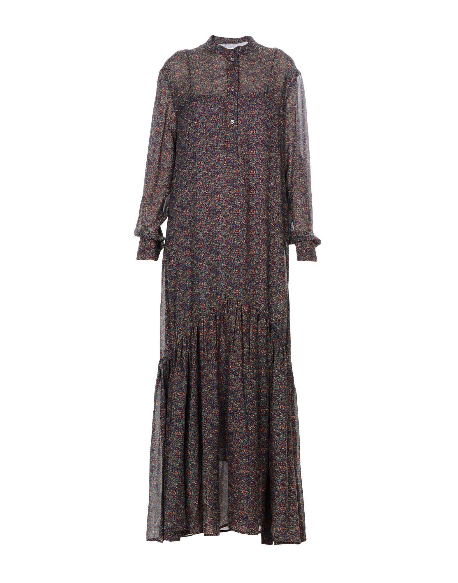 Etoile Isabel Marant Long Dress In Purple