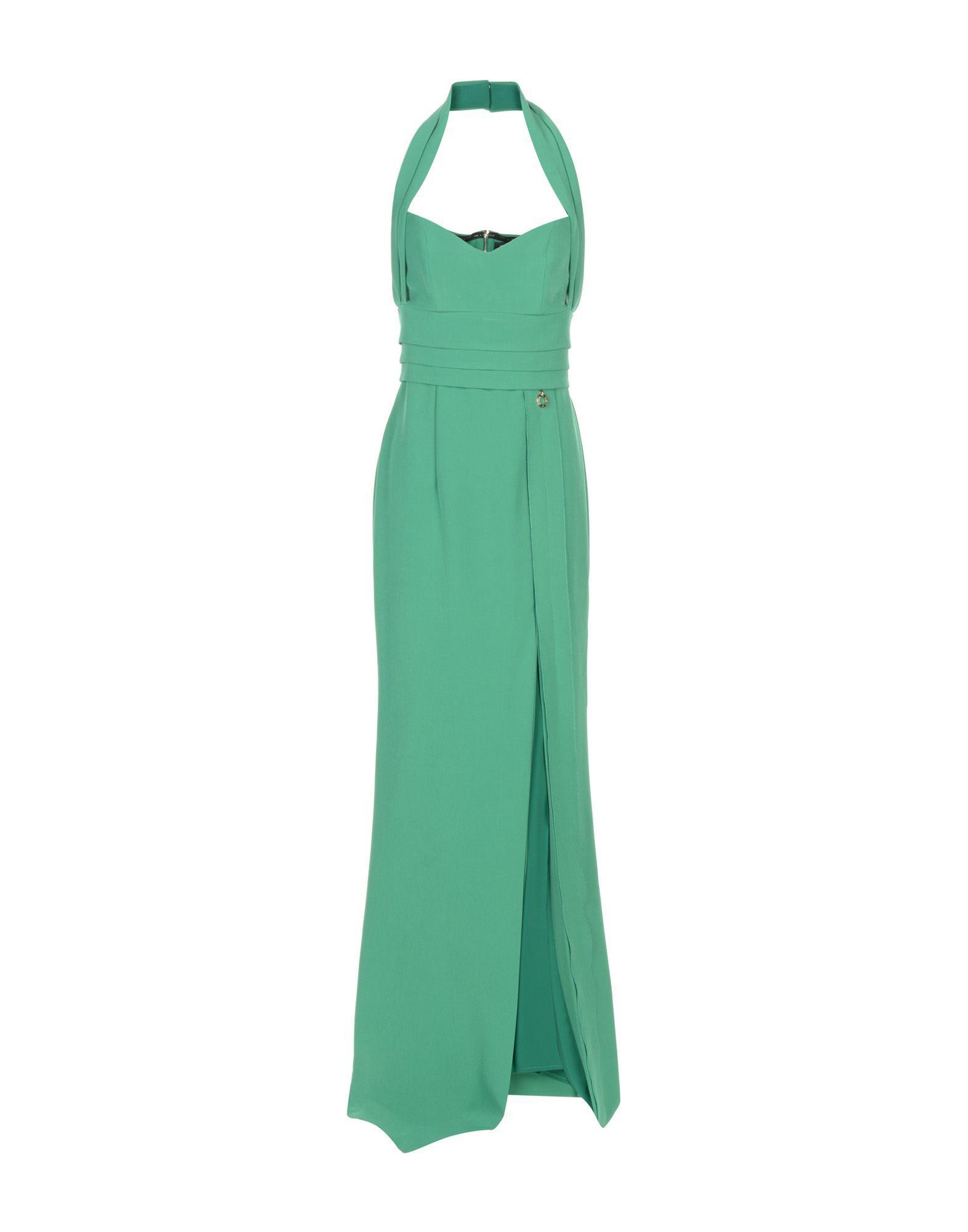 Mangano Long Dresses In Green