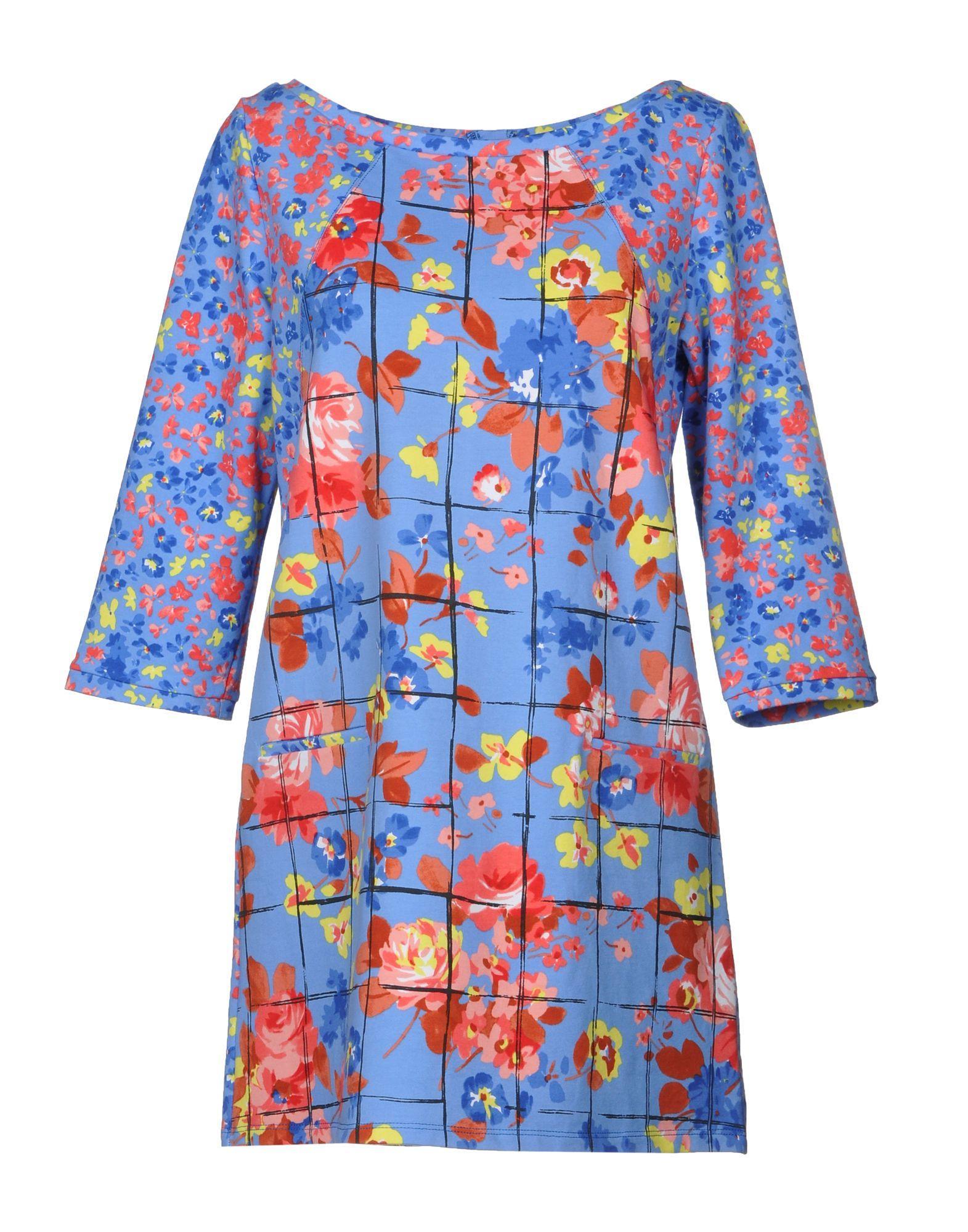 Liu •jo Short Dress In Azure