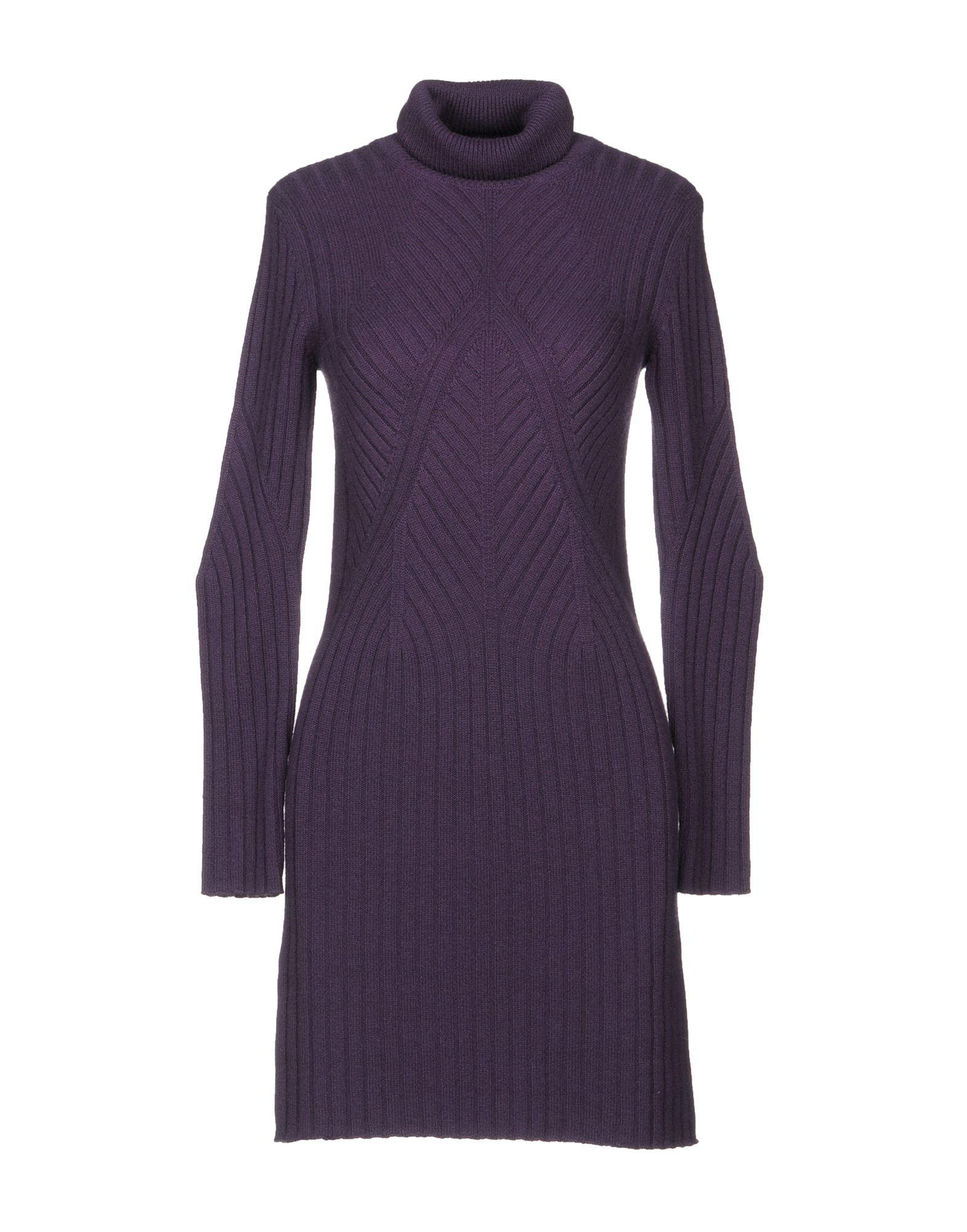 Colombo Short Dress In Purple