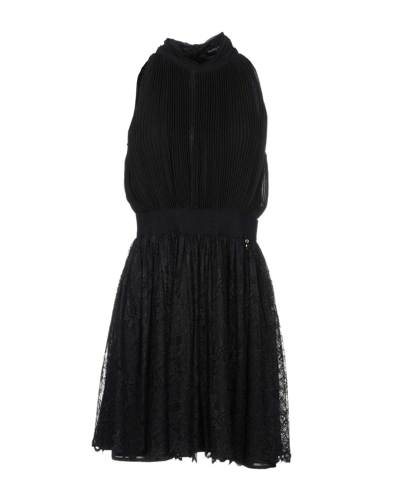 Mangano Short Dress In Black