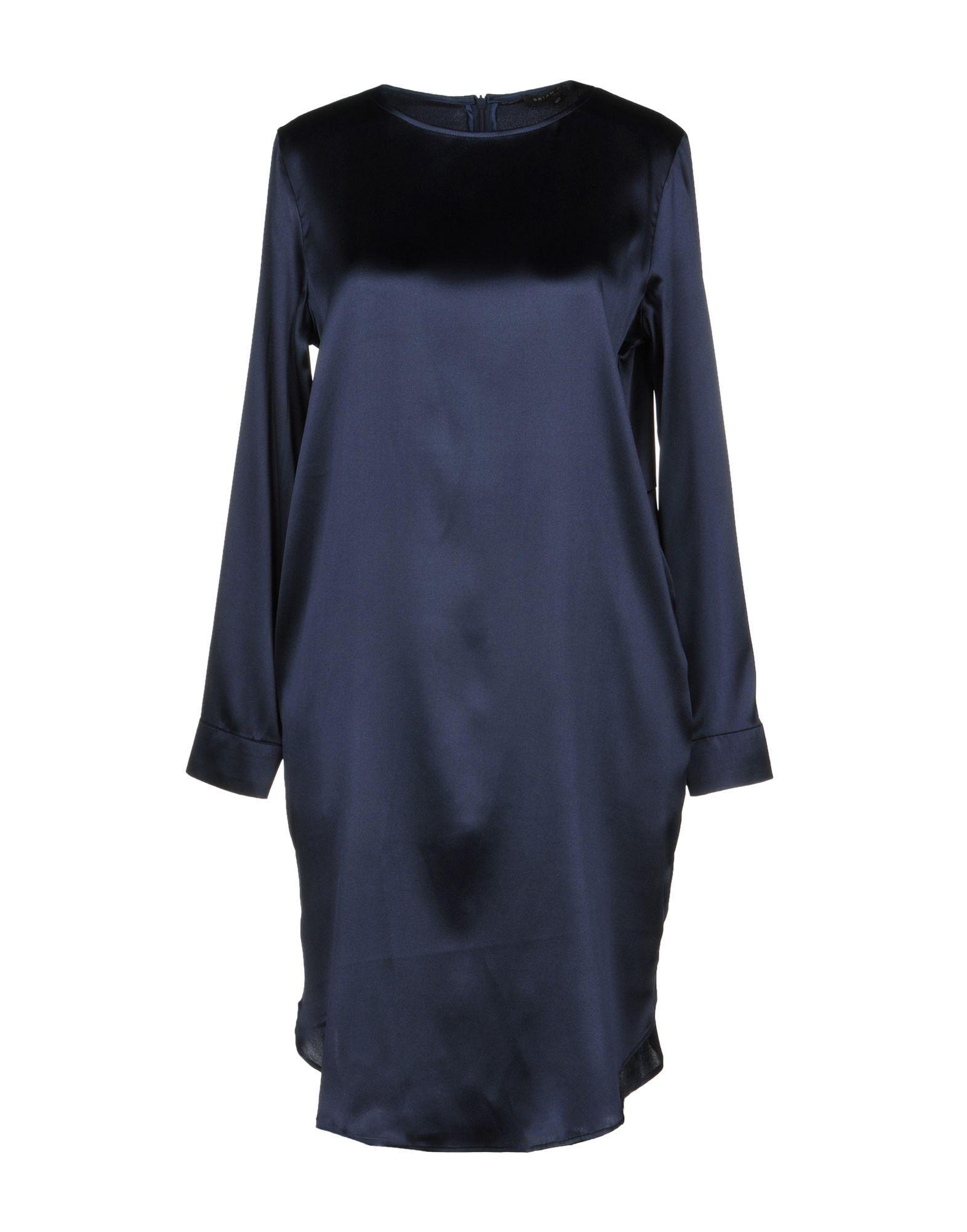 Brian Dales Short Dress In Dark Blue