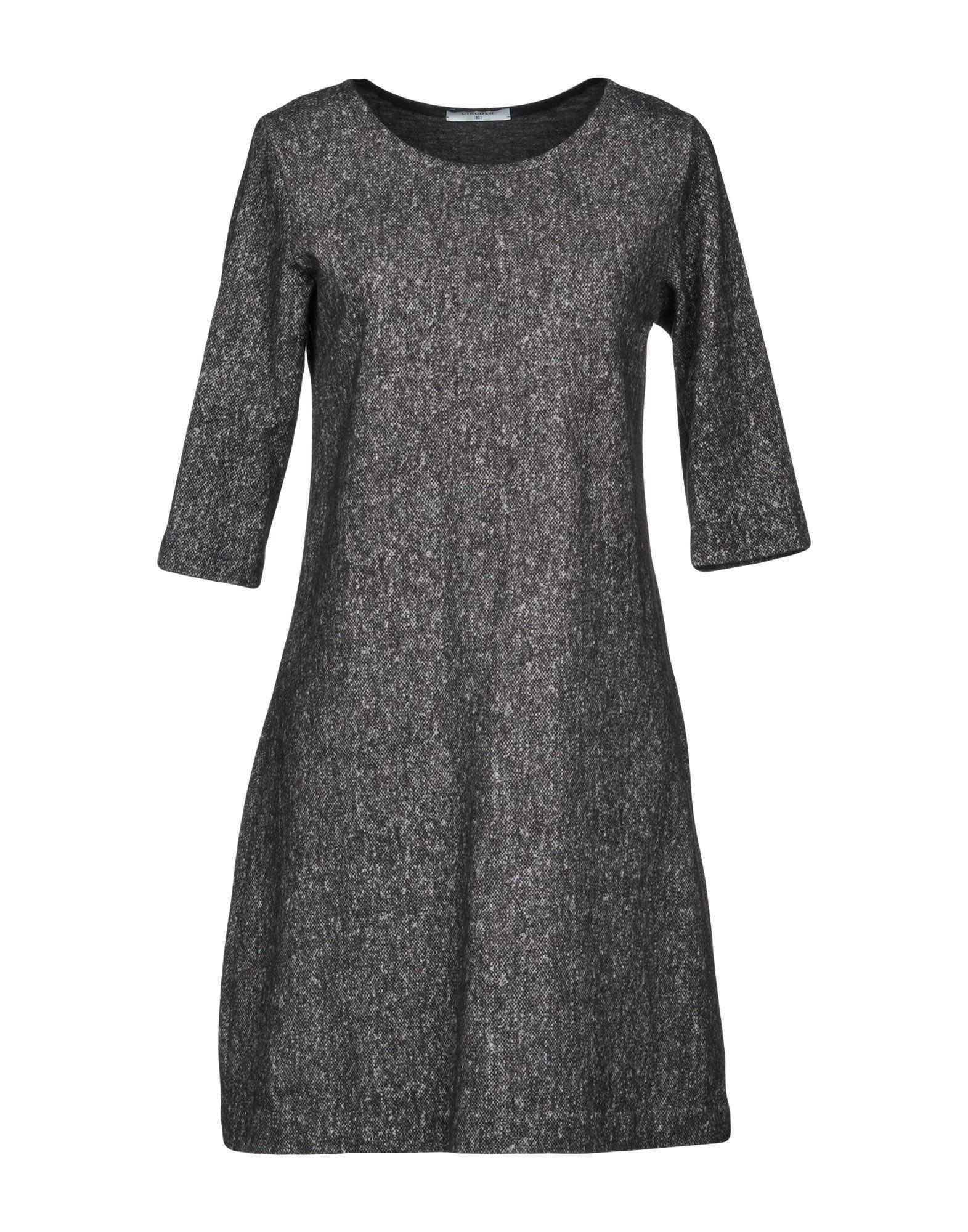 Circolo 1901 Short Dresses In Lead