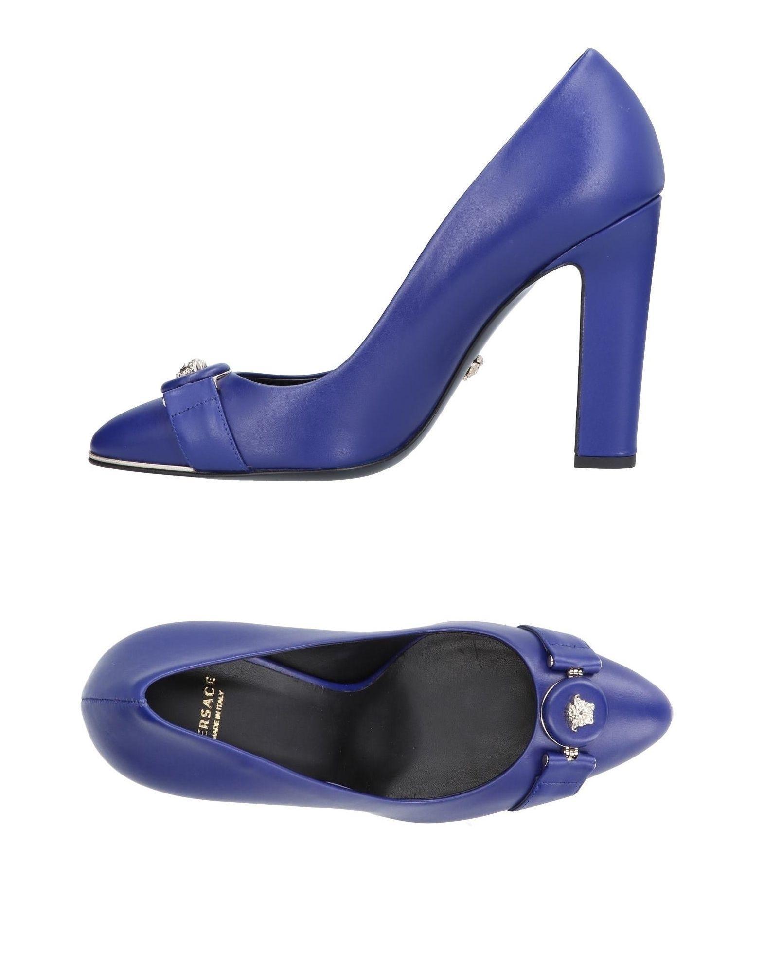 Versace Pump In Blue