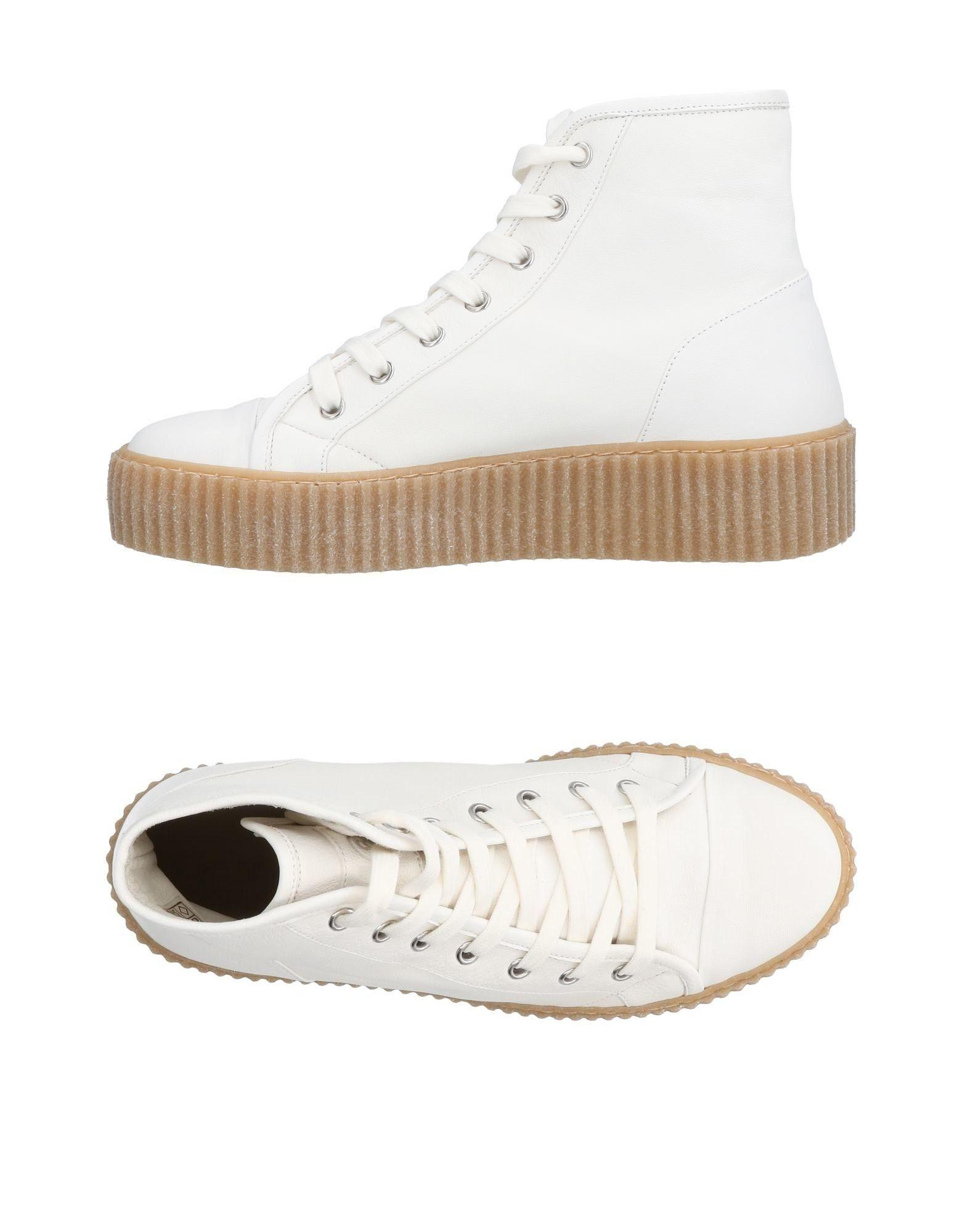 71797995ff060 Mm6 Maison Margiela Sneakers In Ivory | ModeSens