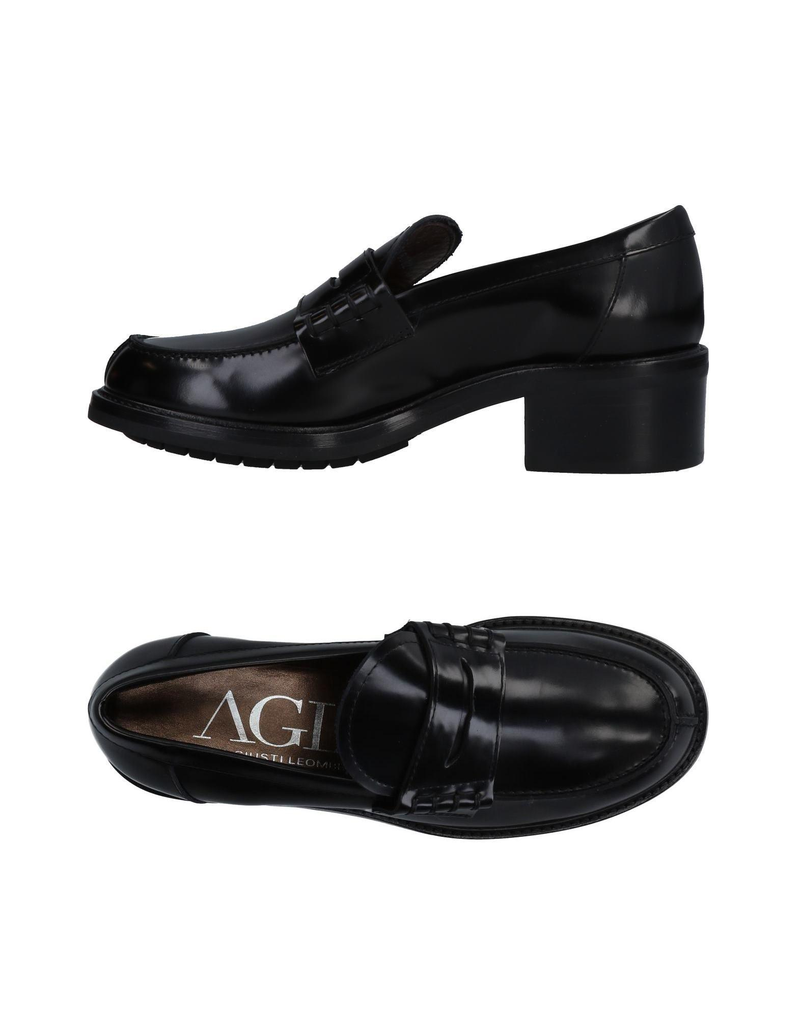 21d7974c32c Agl Attilio Giusti Leombruni Loafers In Black