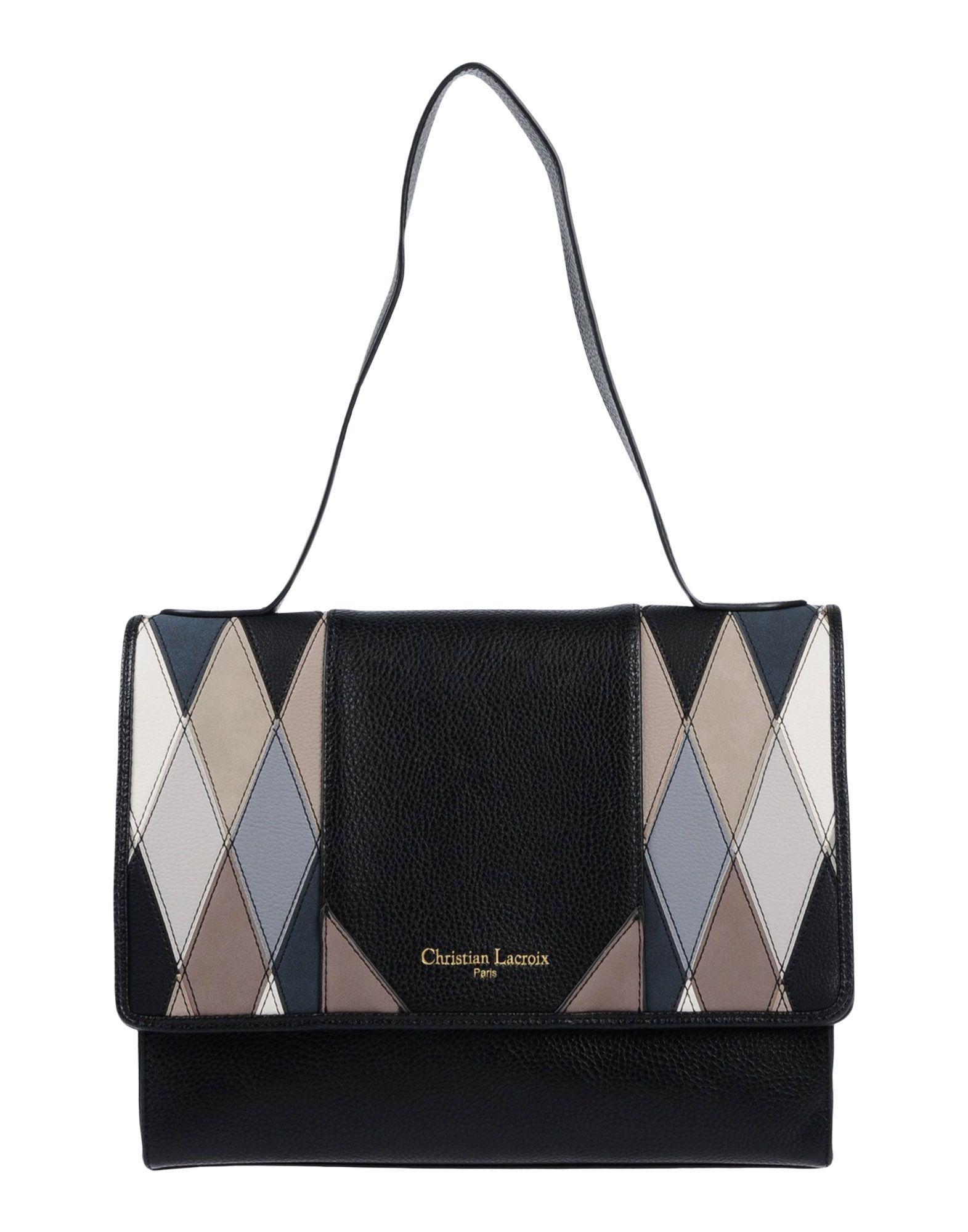 f49bb9fb2 Christian Lacroix Handbag In Black | ModeSens