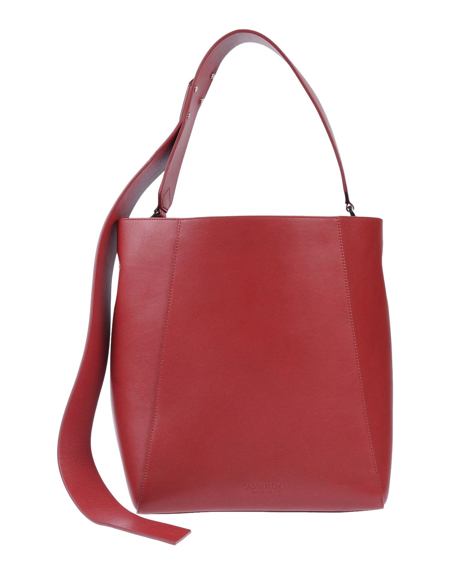 Calvin Klein 205W39Nyc Handbag In Brick Red