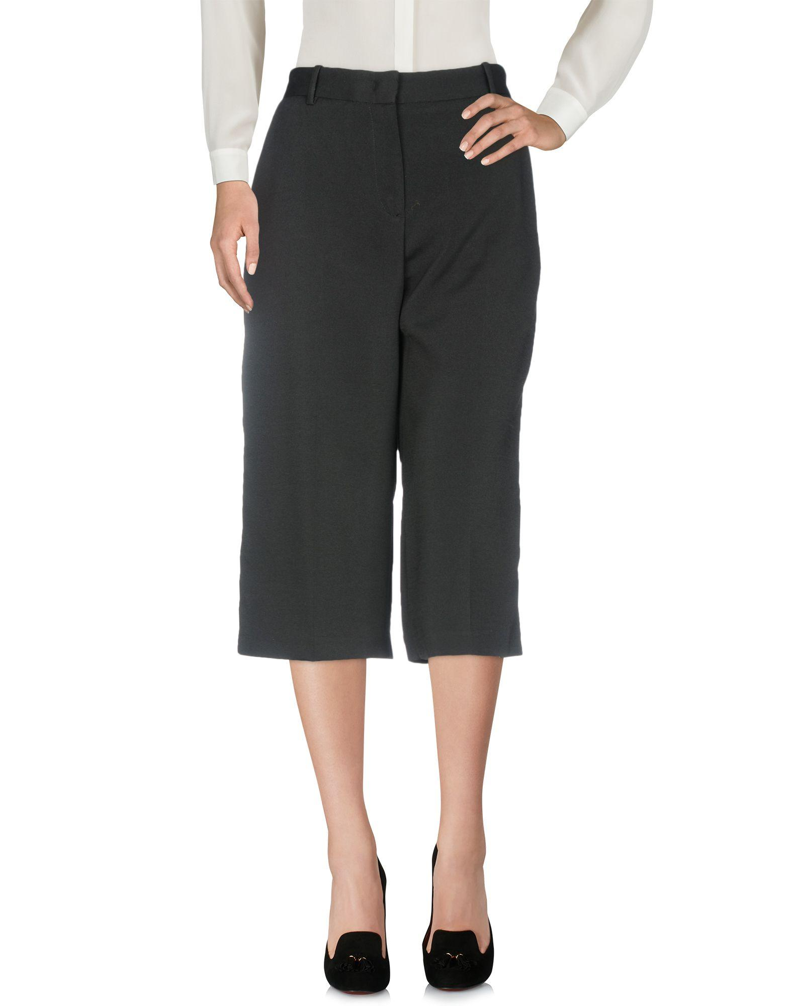 Teresa Dainelli Cropped Pants & Culottes In Black