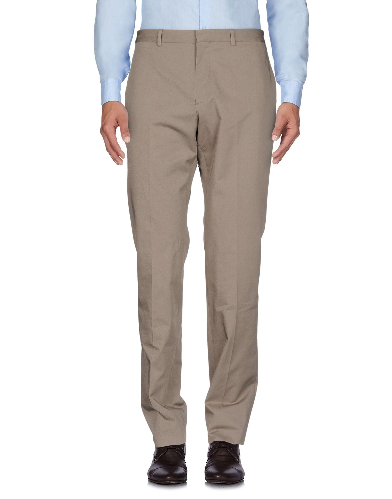 Ps By Paul Smith Casual Pants In Khaki