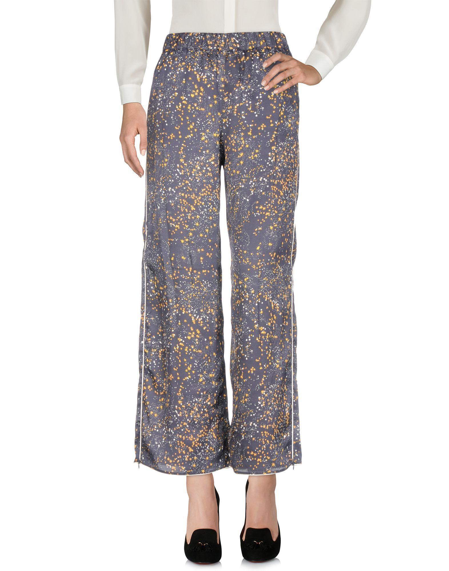Pinko Casual Pants In Dark Blue