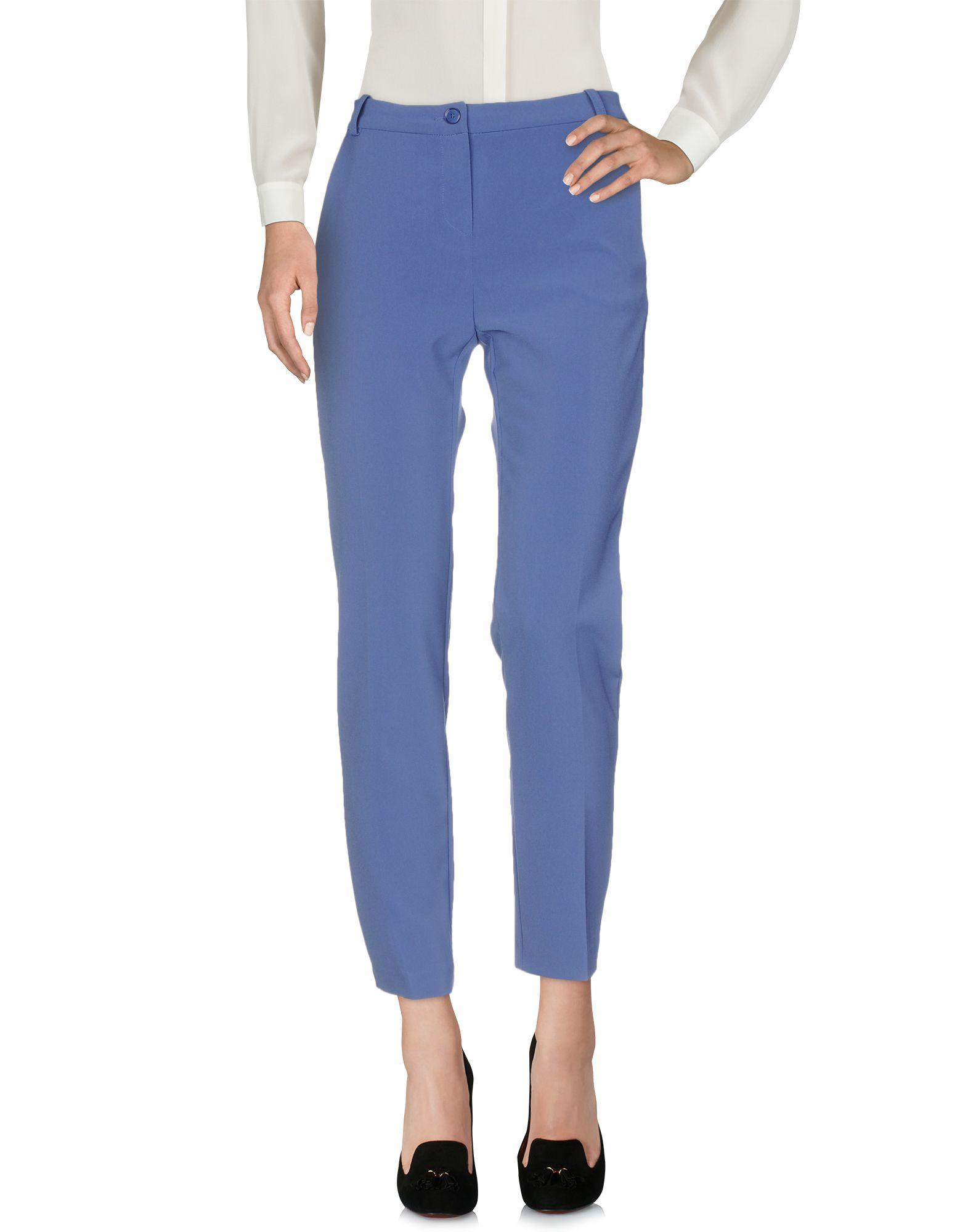 Pinko Casual Pants In Blue
