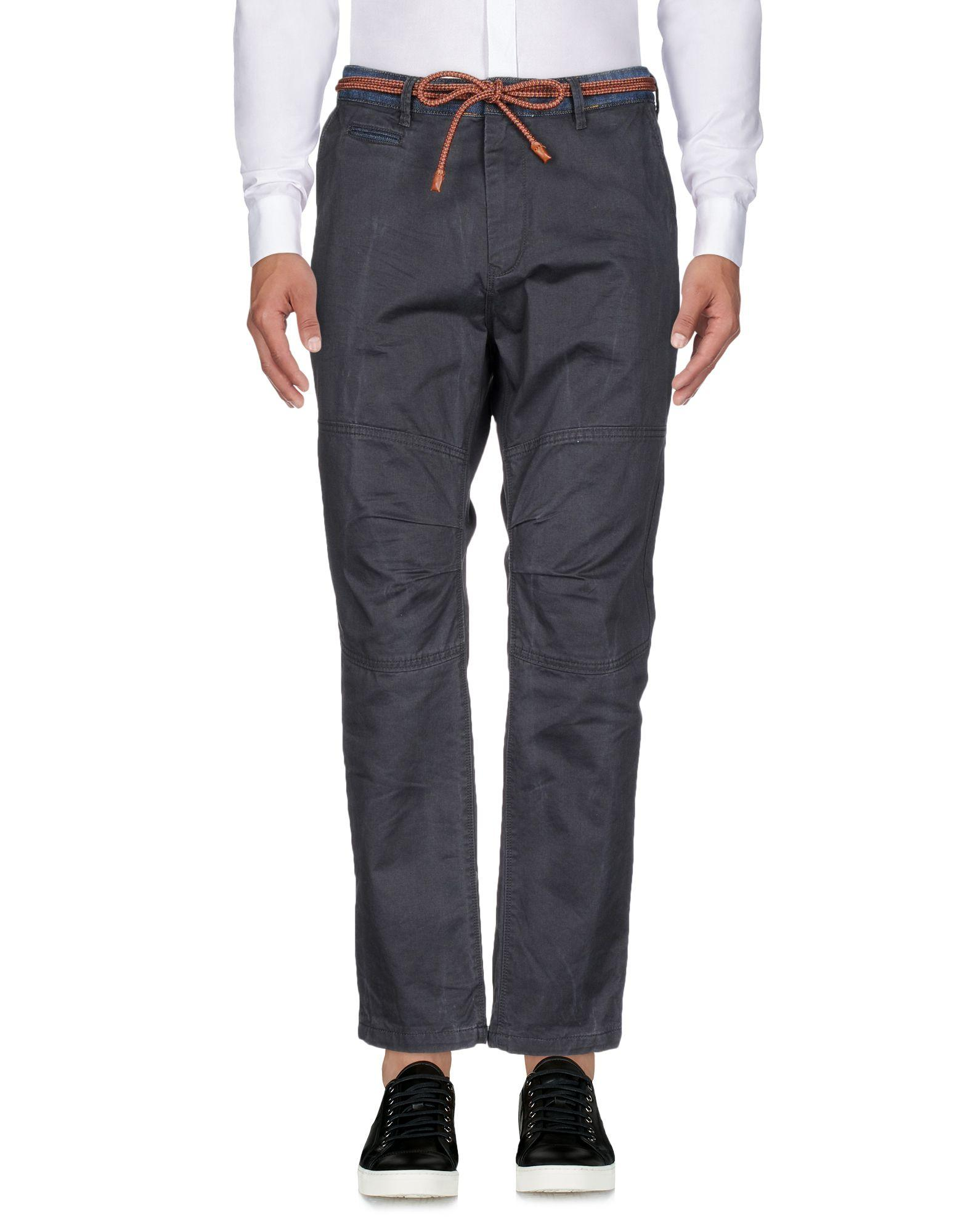 Scotch & Soda Casual Pants In Lead